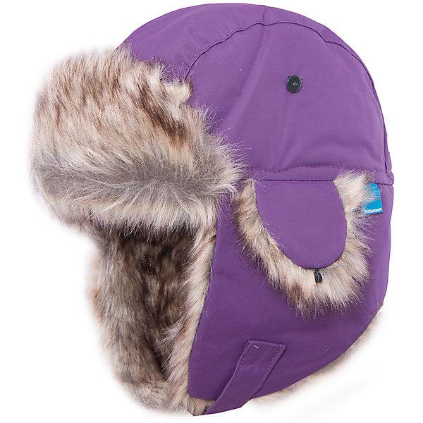 Шапка Helge для девочки DIDRIKSONSГоловные уборы<br>Характеристики товара:<br><br>• цвет: фиолетовый<br>• материал: 100% полиамид, подкладка 100% полиэстер<br>• утеплитель: 60 г/м<br>• сезон: зима<br>• температурный режим от +5° до -20°С<br>• непромокаемая и непродуваемая мембранная ткань<br>• подкладка из искусственного меха<br>• дополнительная пропитка верха<br>• прокленные швы<br>• застежка: липучка<br>• защита ушей от холода<br>• страна бренда: Швеция<br>• страна производства: Китай<br><br>Такие шапки с ушками сейчас на пике молодежной моды! Это не только стильно, но еще и очень комфортно, а также тепло. Эта качественная шапка обеспечит ребенку удобство при прогулках и активном отдыхе зимой. Такая модель от шведского производителя отлично смотрится с разной верхней одеждой.<br>Шапка сшита из мембранной ткани, которая позволяет телу дышать, но при этом не промокает и не продувается. Очень стильная и удобная модель! Изделие качественно выполнено, сделано из безопасных для детей материалов. <br><br>Шапку для девочки от бренда DIDRIKSONS можно купить в нашем интернет-магазине.<br><br>Ширина мм: 89<br>Глубина мм: 117<br>Высота мм: 44<br>Вес г: 155<br>Цвет: лиловый<br>Возраст от месяцев: 96<br>Возраст до месяцев: 120<br>Пол: Женский<br>Возраст: Детский<br>Размер: 56,52,54<br>SKU: 5003817
