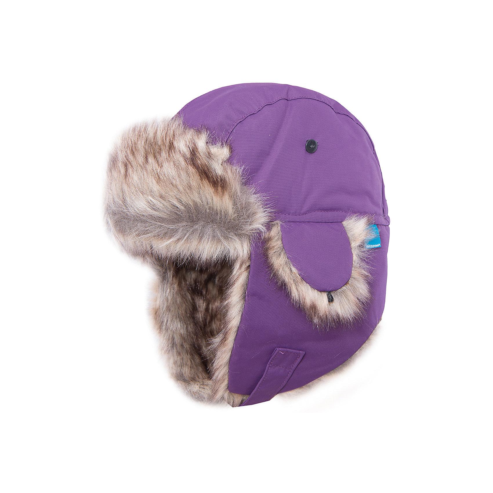 Шапка Helge для девочки DIDRIKSONSГоловные уборы<br>Характеристики товара:<br><br>• цвет: фиолетовый<br>• материал: 100% полиамид, подкладка 100% полиэстер<br>• утеплитель: 60 г/м<br>• сезон: зима<br>• температурный режим от +5° до -20°С<br>• непромокаемая и непродуваемая мембранная ткань<br>• подкладка из искусственного меха<br>• дополнительная пропитка верха<br>• прокленные швы<br>• застежка: липучка<br>• защита ушей от холода<br>• страна бренда: Швеция<br>• страна производства: Китай<br><br>Такие шапки с ушками сейчас на пике молодежной моды! Это не только стильно, но еще и очень комфортно, а также тепло. Эта качественная шапка обеспечит ребенку удобство при прогулках и активном отдыхе зимой. Такая модель от шведского производителя отлично смотрится с разной верхней одеждой.<br>Шапка сшита из мембранной ткани, которая позволяет телу дышать, но при этом не промокает и не продувается. Очень стильная и удобная модель! Изделие качественно выполнено, сделано из безопасных для детей материалов. <br><br>Шапку для девочки от бренда DIDRIKSONS можно купить в нашем интернет-магазине.<br><br>Ширина мм: 89<br>Глубина мм: 117<br>Высота мм: 44<br>Вес г: 155<br>Цвет: лиловый<br>Возраст от месяцев: 48<br>Возраст до месяцев: 60<br>Пол: Женский<br>Возраст: Детский<br>Размер: 52,56,54<br>SKU: 5003817