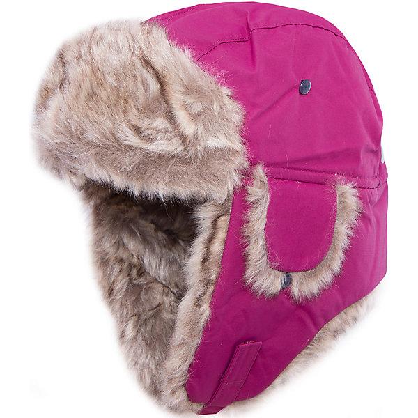 Шапка Helge для девочки DIDRIKSONSГоловные уборы<br>Характеристики товара:<br><br>• цвет: фиолетовый<br>• материал: 100% полиамид, подкладка 100% полиэстер<br>• утеплитель: 60 г/м<br>• сезон: зима<br>• температурный режим от +5° до -20°С<br>• непромокаемая и непродуваемая мембранная ткань<br>• подкладка из искусственного меха<br>• дополнительная пропитка верха<br>• прокленные швы<br>• застежка: липучка<br>• защита ушей от холода<br>• страна бренда: Швеция<br>• страна производства: Китай<br><br>Такие шапки с ушками сейчас на пике молодежной моды! Это не только стильно, но еще и очень комфортно, а также тепло. Эта качественная шапка обеспечит ребенку удобство при прогулках и активном отдыхе зимой. Такая модель от шведского производителя отлично смотрится с разной верхней одеждой.<br>Шапка сшита из мембранной ткани, которая позволяет телу дышать, но при этом не промокает и не продувается. Очень стильная и удобная модель! Изделие качественно выполнено, сделано из безопасных для детей материалов. <br><br>Шапку для девочки от бренда DIDRIKSONS можно купить в нашем интернет-магазине.<br><br>Ширина мм: 89<br>Глубина мм: 117<br>Высота мм: 44<br>Вес г: 155<br>Цвет: лиловый<br>Возраст от месяцев: 72<br>Возраст до месяцев: 84<br>Пол: Женский<br>Возраст: Детский<br>Размер: 54,56,52<br>SKU: 5003825