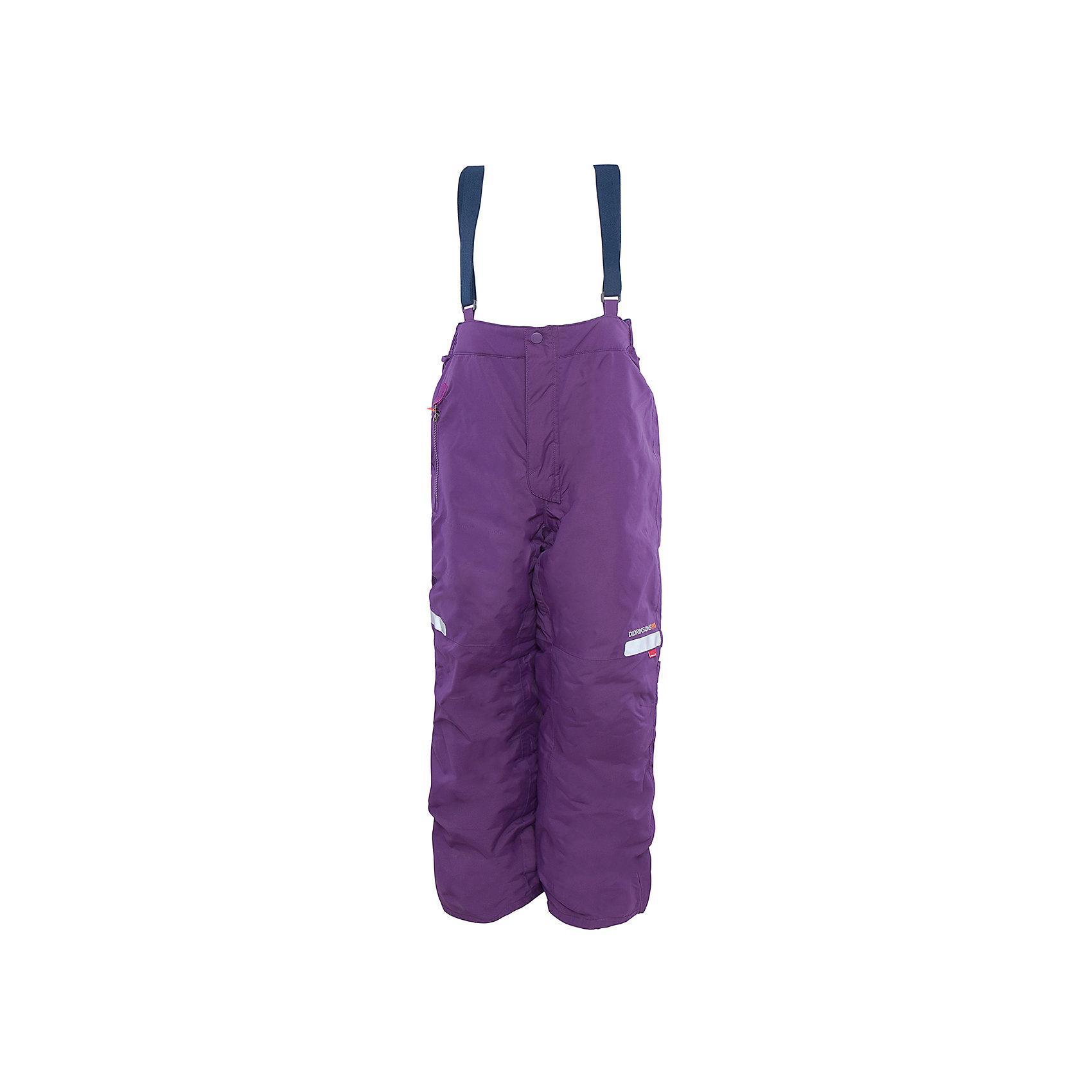 Брюки Amitola для девочки DIDRIKSONSХарактеристики товара:<br><br>• цвет: фиолетовый<br>• материал: 100% полиамид, подкладка 100% полиэстер<br>• утеплитель: 120 г/м<br>• сезон: зима<br>• температурный режим от +5 до -20<br>• непромокаемая и непродуваемая мембранная ткань<br>• резинки для ботинок<br>• дополнительная пропитка верха<br>• прокленные швы<br>• талия и низ штанин регулируется<br>• внутренние гетры<br>• ширинка на молнии<br>• фиксированные лямки<br>• светоотражающие детали<br>• можно увеличить длину штанин на один размер <br>• страна бренда: Швеция<br>• страна производства: Китай<br><br>Такие брюки незаменимы в холодную и сырую погоду! Это не только стильно, но еще и очень комфортно, а также тепло. Они обеспечат ребенку удобство при прогулках и активном отдыхе зимой. Брюки от шведского производителя легко трансформируются под рост ребенка и погодные условия.<br>Модель сшита из мембранной ткани, которая позволяет телу дышать, но при этом не промокает и не продувается. Очень стильная и удобная модель! Изделие качественно выполнено, сделано из безопасных для детей материалов. <br><br>Брюки для девочки от бренда DIDRIKSONS можно купить в нашем интернет-магазине.<br><br>Ширина мм: 215<br>Глубина мм: 88<br>Высота мм: 191<br>Вес г: 336<br>Цвет: фиолетовый<br>Возраст от месяцев: 12<br>Возраст до месяцев: 15<br>Пол: Женский<br>Возраст: Детский<br>Размер: 80,140,120,110,100,90<br>SKU: 5003855
