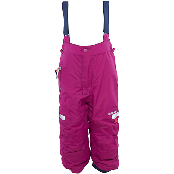 Брюки Amitola для девочки DIDRIKSONSВерхняя одежда<br>Характеристики товара:<br><br>• цвет: фиолетовый<br>• материал: 100% полиамид, подкладка 100% полиэстер<br>• утеплитель: 120 г/м<br>• сезон: зима<br>• температурный режим от +5 до -20С<br>• непромокаемая и непродуваемая мембранная ткань<br>• резинки для ботинок<br>• дополнительная пропитка верха<br>• прокленные швы<br>• талия и низ штанин регулируется<br>• внутренние гетры<br>• ширинка на молнии<br>• фиксированные лямки<br>• светоотражающие детали<br>• можно увеличить длину штанин на один размер <br>• страна бренда: Швеция<br>• страна производства: Китай<br><br>Такие брюки незаменимы в холодную и сырую погоду! Это не только стильно, но еще и очень комфортно, а также тепло. Они обеспечат ребенку удобство при прогулках и активном отдыхе зимой. Брюки от шведского производителя легко трансформируются под рост ребенка и погодные условия.<br>Модель сшита из мембранной ткани, которая позволяет телу дышать, но при этом не промокает и не продувается. Очень стильная и удобная модель! Изделие качественно выполнено, сделано из безопасных для детей материалов. <br><br>Брюки для девочки от бренда DIDRIKSONS можно купить в нашем интернет-магазине.<br><br>Ширина мм: 215<br>Глубина мм: 88<br>Высота мм: 191<br>Вес г: 336<br>Цвет: лиловый<br>Возраст от месяцев: 18<br>Возраст до месяцев: 24<br>Пол: Женский<br>Возраст: Детский<br>Размер: 90,120,130<br>SKU: 5003877