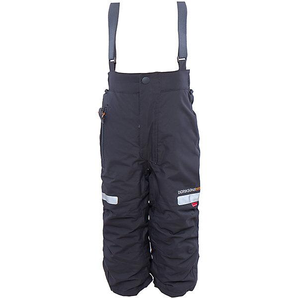 Брюки Amitola DIDRIKSONSВерхняя одежда<br>Характеристики товара:<br><br>• цвет: черный<br>• материал: 100% полиамид, подкладка 100% полиэстер<br>• утеплитель: 120 г/м<br>• сезон: зима<br>• температурный режим от +5 до -20С<br>• непромокаемая и непродуваемая мембранная ткань<br>• резинки для ботинок<br>• дополнительная пропитка верха<br>• прокленные швы<br>• талия и низ штанин регулируется<br>• внутренние гетры<br>• ширинка на молнии<br>• фиксированные лямки<br>• светоотражающие детали<br>• можно увеличить длину штанин на один размер <br>• страна бренда: Швеция<br>• страна производства: Китай<br><br>Такие брюки незаменимы в холодную и сырую погоду! Это не только стильно, но еще и очень комфортно, а также тепло. Они обеспечат ребенку удобство при прогулках и активном отдыхе зимой. Брюки от шведского производителя легко трансформируются под рост ребенка и погодные условия.<br>Модель сшита из мембранной ткани, которая позволяет телу дышать, но при этом не промокает и не продувается. Очень стильная и удобная модель! Изделие качественно выполнено, сделано из безопасных для детей материалов. <br><br>Брюки от бренда DIDRIKSONS можно купить в нашем интернет-магазине.<br><br>Ширина мм: 215<br>Глубина мм: 88<br>Высота мм: 191<br>Вес г: 336<br>Цвет: черный<br>Возраст от месяцев: 12<br>Возраст до месяцев: 15<br>Пол: Мужской<br>Возраст: Детский<br>Размер: 80,100,90<br>SKU: 5003879