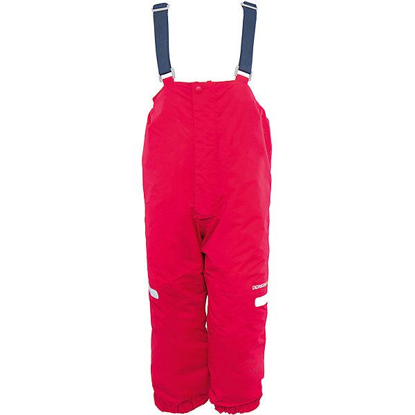 Брюки Ayasha для девочки DIDRIKSONSВерхняя одежда<br>Характеристики товара:<br><br>• цвет: розовый<br>• материал: 100% полиамид, подкладка 100% полиэстер<br>• утеплитель: 120 г/м<br>• сезон: зима<br>• температурный режим от +5 до -20С<br>• непромокаемая и непродуваемая мембранная ткань<br>• дополнительная пропитка верха<br>• прокленные швы<br>• талия и низ штанин регулируется<br>• внутренние гетры<br>• ширинка на молнии<br>• светоотражающие детали<br>• можно увеличить длину штанин на один размер <br>• страна бренда: Швеция<br>• страна производства: Китай<br><br>Такие брюки незаменимы в холодную и сырую погоду! Это не только стильно, но еще и очень комфортно, а также тепло. Они обеспечат ребенку удобство при прогулках и активном отдыхе зимой. Брюки от шведского производителя легко трансформируются под рост ребенка и погодные условия.<br>Модель сшита из мембранной ткани, которая позволяет телу дышать, но при этом не промокает и не продувается. Очень стильная и удобная модель! Изделие качественно выполнено, сделано из безопасных для детей материалов. <br><br>Брюки для девочки от бренда DIDRIKSONS можно купить в нашем интернет-магазине.<br><br>Ширина мм: 215<br>Глубина мм: 88<br>Высота мм: 191<br>Вес г: 336<br>Цвет: розовый<br>Возраст от месяцев: 48<br>Возраст до месяцев: 60<br>Пол: Женский<br>Возраст: Детский<br>Размер: 110,80,90,100<br>SKU: 5003885