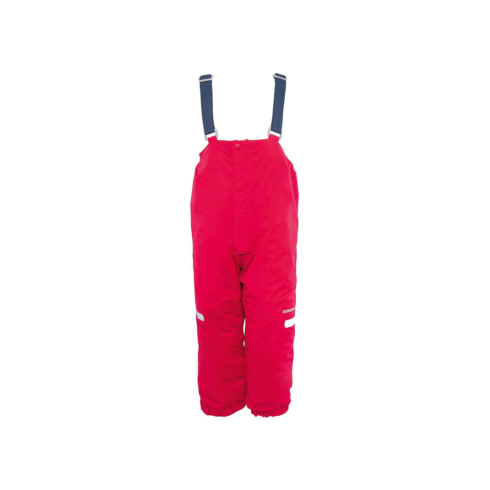 Брюки Ayasha для девочки DIDRIKSONSВерхняя одежда<br>Характеристики товара:<br><br>• цвет: розовый<br>• материал: 100% полиамид, подкладка 100% полиэстер<br>• утеплитель: 120 г/м<br>• сезон: зима<br>• температурный режим от +5 до -20С<br>• непромокаемая и непродуваемая мембранная ткань<br>• дополнительная пропитка верха<br>• прокленные швы<br>• талия и низ штанин регулируется<br>• внутренние гетры<br>• ширинка на молнии<br>• светоотражающие детали<br>• можно увеличить длину штанин на один размер <br>• страна бренда: Швеция<br>• страна производства: Китай<br><br>Такие брюки незаменимы в холодную и сырую погоду! Это не только стильно, но еще и очень комфортно, а также тепло. Они обеспечат ребенку удобство при прогулках и активном отдыхе зимой. Брюки от шведского производителя легко трансформируются под рост ребенка и погодные условия.<br>Модель сшита из мембранной ткани, которая позволяет телу дышать, но при этом не промокает и не продувается. Очень стильная и удобная модель! Изделие качественно выполнено, сделано из безопасных для детей материалов. <br><br>Брюки для девочки от бренда DIDRIKSONS можно купить в нашем интернет-магазине.<br><br>Ширина мм: 215<br>Глубина мм: 88<br>Высота мм: 191<br>Вес г: 336<br>Цвет: розовый<br>Возраст от месяцев: 12<br>Возраст до месяцев: 15<br>Пол: Женский<br>Возраст: Детский<br>Размер: 80,110,100,90<br>SKU: 5003885