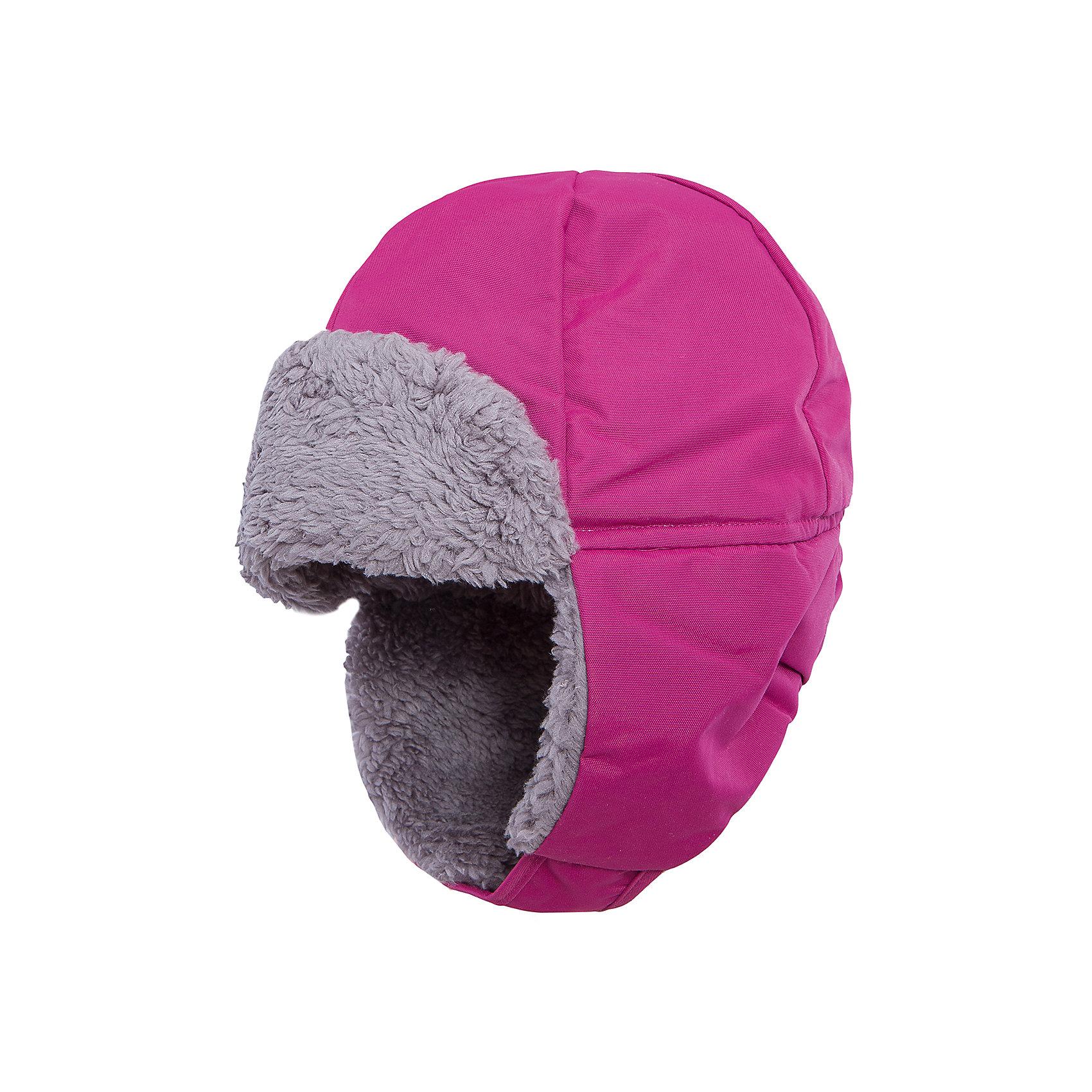 Шапка Biggles для девочки DIDRIKSONSГоловные уборы<br>Характеристики товара:<br><br>• цвет: фуксия<br>• материал: 100% полиамид, подкладка 100% полиэстер<br>• утеплитель: 60 г/м<br>• сезон: зима<br>• температурный режим от +5 до -20С<br>• непромокаемая и непродуваемая мембранная ткань<br>• подкладка из искусственного меха<br>• дополнительная пропитка верха<br>• прокленные швы<br>• застежка: липучка<br>• защита ушей от холода<br>• страна бренда: Швеция<br>• страна производства: Китай<br><br>Такие шапки сейчас на пике молодежной моды! Это не только стильно, но еще и очень комфортно, а также тепло. Эта качественная шапка обеспечит ребенку удобство при прогулках и активном отдыхе зимой. Такая модель от шведского производителя отлично смотрится с разной верхней одеждой.<br>Шапка сшита из мембранной ткани, которая позволяет телу дышать, но при этом не промокает и не продувается. Очень стильная и удобная модель! Изделие качественно выполнено, сделано из безопасных для детей материалов. <br><br>Шапку для девочки от бренда DIDRIKSONS можно купить в нашем интернет-магазине.<br><br>Ширина мм: 89<br>Глубина мм: 117<br>Высота мм: 44<br>Вес г: 155<br>Цвет: лиловый<br>Возраст от месяцев: 96<br>Возраст до месяцев: 120<br>Пол: Женский<br>Возраст: Детский<br>Размер: 56,50,54,52<br>SKU: 5004015
