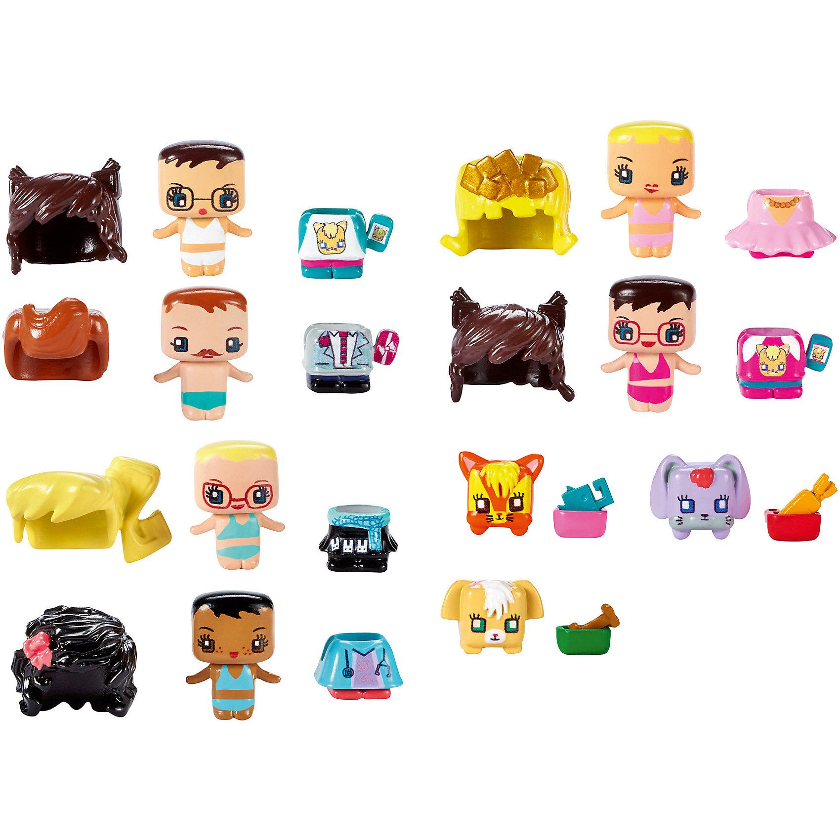 Набор из 3-х фигурок, My Mini MixieQ's, в ассортиментеЛюбимые герои<br>Набор My Mini MixieQ's – милая игрушка для маленьких детей. В набор входит 3 фигурки на определенную тематику. Фигурки разбираются. Детали можно поменять местами. Например, у человечка снимается парик и наряд. Все детали подходят к другим фигуркам из серии. В набор включены 2 персонажа и одна секретная фигурка. Во всей серии секретные фигурки разные, поэтому при покупке нового набора ребенка всегда будет ждать сюрприз. Материалы, использованные при изготовлении игрушек, полностью безопасны для детей и отвечают всем требованиям по качеству.<br><br>Дополнительная информация: <br><br>цвет: разноцветный;<br>материал: пластик, текстиль.<br><br>Набор из 3-х фигурок, My Mini MixieQ's, от компании Mattel можно приобрести в нашем магазине.<br><br>Ширина мм: 40<br>Глубина мм: 140<br>Высота мм: 165<br>Вес г: 59<br>Возраст от месяцев: 48<br>Возраст до месяцев: 120<br>Пол: Женский<br>Возраст: Детский<br>SKU: 5004450