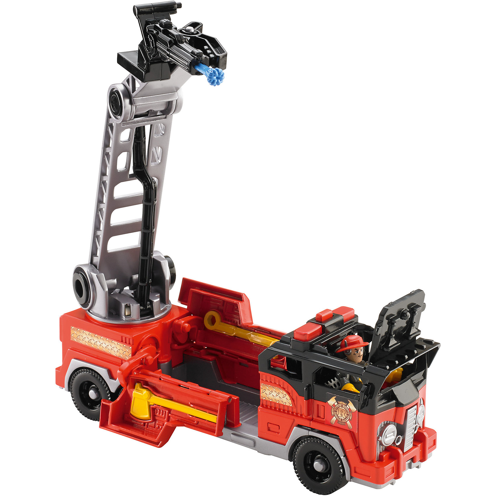 Пожарная машина, Imaginext, Fisher PriceМашинки и транспорт для малышей<br>Пожарная машина – дополнительная игрушка из коллекции спасателей города от Fisher Price. Все малыши мечтают почувствовать себя настоящими героями. Новый набор от Fisher Price сделает мечту реальностью. Пожарная машина – интерактивная игрушка, может издавать световые и звуковые сигналы. Собрав всю коллекцию, малыш обезопасит свой игрушечный город на все 100%! Набор содержит мелкие детали. Материалы, использованные при изготовлении игрушек, полностью безопасны для детей и отвечают всем требованиям по качеству.<br><br>Дополнительная информация: <br><br>цвет: разноцветный;<br>возраст: 3-8 лет;<br>материал: пластик.<br><br>Пожарную машину, Imaginext из серии Fisher Price от компании Mattel можно приобрести в нашем магазине.<br><br>Ширина мм: 89<br>Глубина мм: 305<br>Высота мм: 216<br>Вес г: 859<br>Возраст от месяцев: 36<br>Возраст до месяцев: 96<br>Пол: Мужской<br>Возраст: Детский<br>SKU: 5004471