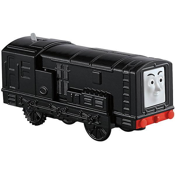 Моторизированный паровозик, Томас и его друзьяЖелезные дороги<br>Железная дорога – увлекательная игра, знакомая многим родителям с детства. Моторизированные паровозики – новое слово техники в сфере детских игрушек. Томас , веселый паровозик, ездит по железной дороге вместе со своими друзьями. В наборе представлено 6 игрушек. Все модели упакованы в удобную картонную коробку, компактного размера, подходящую для хранения. Материалы, использованные при изготовлении игрушек, сертифицированы, полностью безопасны для детей и отвечают всем требованиям по качеству.<br><br>Дополнительная информация: <br><br>цвет: разноцветный;<br>возраст: 3+;<br>количество: 6 штук;<br>материал: высококачественный пластик.<br>Моторизированные паровозики «Томас и его друзья» от компании Mattel можно приобрести в нашем магазине<br><br>Ширина мм: 45<br>Глубина мм: 210<br>Высота мм: 140<br>Вес г: 166<br>Возраст от месяцев: 36<br>Возраст до месяцев: 120<br>Пол: Унисекс<br>Возраст: Детский<br>SKU: 5004513