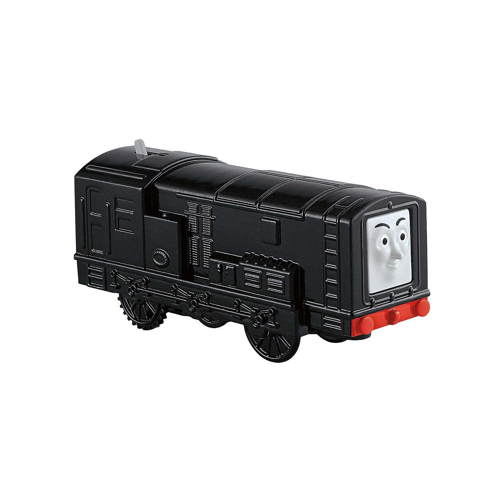 Моторизированный паровозик, Томас и его друзьяИгрушечная железная дорога<br>Железная дорога – увлекательная игра, знакомая многим родителям с детства. Моторизированные паровозики – новое слово техники в сфере детских игрушек. Томас , веселый паровозик, ездит по железной дороге вместе со своими друзьями. В наборе представлено 6 игрушек. Все модели упакованы в удобную картонную коробку, компактного размера, подходящую для хранения. Материалы, использованные при изготовлении игрушек, сертифицированы, полностью безопасны для детей и отвечают всем требованиям по качеству.<br><br>Дополнительная информация: <br><br>цвет: разноцветный;<br>возраст: 3+;<br>количество: 6 штук;<br>материал: высококачественный пластик.<br>Моторизированные паровозики «Томас и его друзья» от компании Mattel можно приобрести в нашем магазине<br><br>Ширина мм: 45<br>Глубина мм: 210<br>Высота мм: 140<br>Вес г: 166<br>Возраст от месяцев: 36<br>Возраст до месяцев: 120<br>Пол: Унисекс<br>Возраст: Детский<br>SKU: 5004513