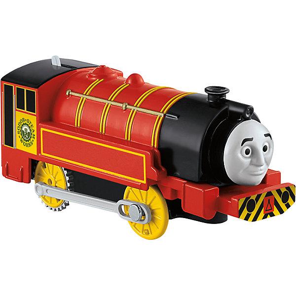 Моторизированный паровозик, Томас и его друзьяПаровозики<br>Железная дорога – увлекательная игра, знакомая многим родителям с детства. Моторизированные паровозики – новое слово техники в сфере детских игрушек. Томас , веселый паровозик, ездит по железной дороге вместе со своими друзьями. В наборе представлено 6 игрушек. Все модели упакованы в удобную картонную коробку, компактного размера, подходящую для хранения. Материалы, использованные при изготовлении игрушек, сертифицированы, полностью безопасны для детей и отвечают всем требованиям по качеству.<br><br>Дополнительная информация: <br><br>цвет: разноцветный;<br>возраст: 3+;<br>количество: 6 штук;<br>материал: высококачественный пластик.<br>Моторизированные паровозики «Томас и его друзья» от компании Mattel можно приобрести в нашем магазине<br><br>Ширина мм: 45<br>Глубина мм: 210<br>Высота мм: 140<br>Вес г: 166<br>Возраст от месяцев: 36<br>Возраст до месяцев: 120<br>Пол: Унисекс<br>Возраст: Детский<br>SKU: 5004514