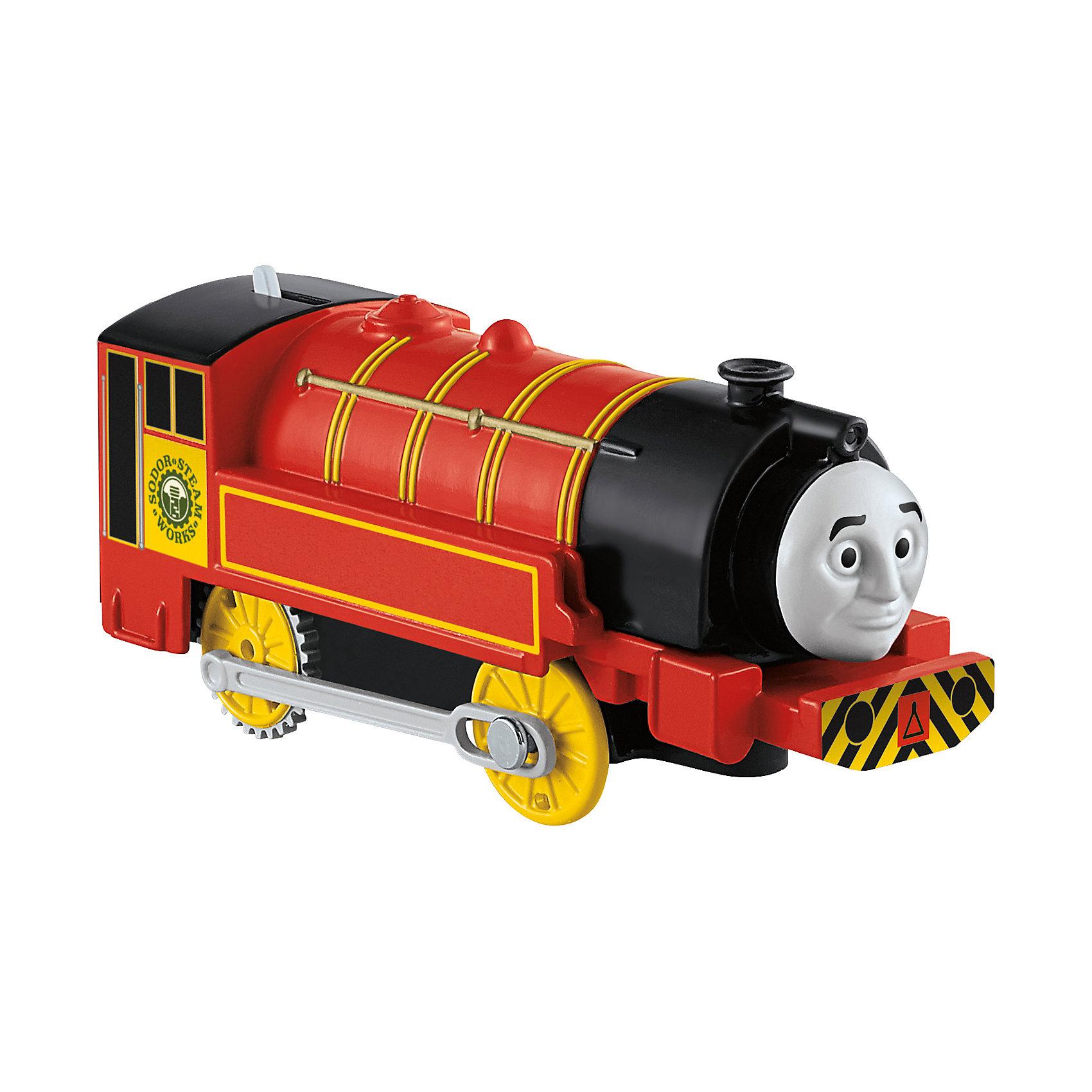 Моторизированный паровозик, Томас и его друзьяТомас и его друзья Игрушки<br>Железная дорога – увлекательная игра, знакомая многим родителям с детства. Моторизированные паровозики – новое слово техники в сфере детских игрушек. Томас , веселый паровозик, ездит по железной дороге вместе со своими друзьями. В наборе представлено 6 игрушек. Все модели упакованы в удобную картонную коробку, компактного размера, подходящую для хранения. Материалы, использованные при изготовлении игрушек, сертифицированы, полностью безопасны для детей и отвечают всем требованиям по качеству.<br><br>Дополнительная информация: <br><br>цвет: разноцветный;<br>возраст: 3+;<br>количество: 6 штук;<br>материал: высококачественный пластик.<br>Моторизированные паровозики «Томас и его друзья» от компании Mattel можно приобрести в нашем магазине<br><br>Ширина мм: 45<br>Глубина мм: 210<br>Высота мм: 140<br>Вес г: 166<br>Возраст от месяцев: 36<br>Возраст до месяцев: 120<br>Пол: Унисекс<br>Возраст: Детский<br>SKU: 5004514