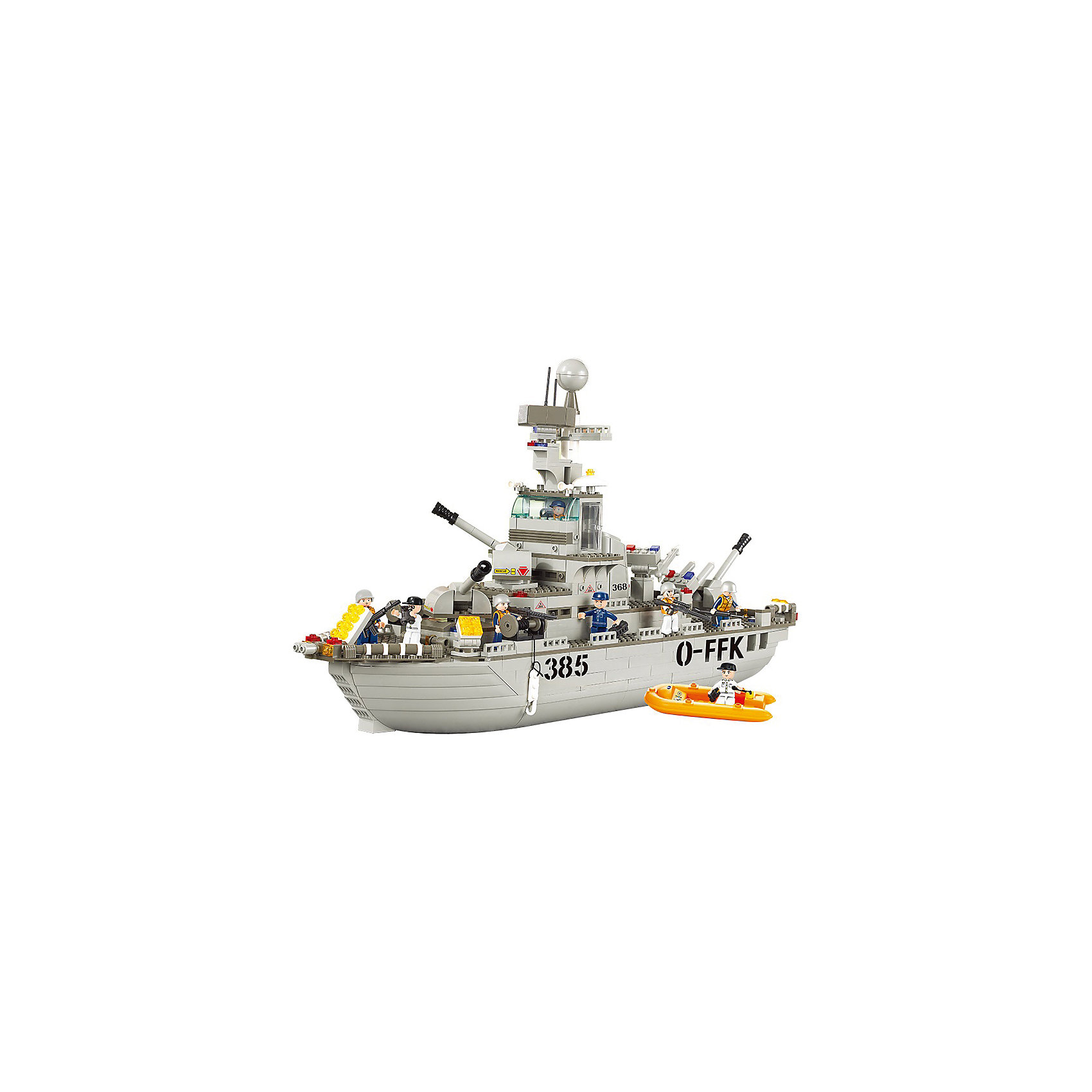 Конструктор Военно-морская серия: Спасательная операция, SlubanКонструкторы<br>В наборе: корабль, спасательная лодка, фигурки людей, 577 деталей<br><br>Ширина мм: 545<br>Глубина мм: 425<br>Высота мм: 85<br>Вес г: 2830<br>Возраст от месяцев: 72<br>Возраст до месяцев: 1188<br>Пол: Мужской<br>Возраст: Детский<br>SKU: 5005637
