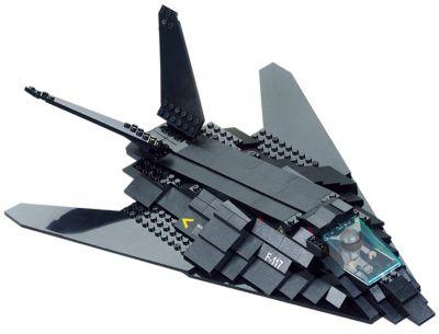 Конструктор Воздушные войска: Самолёт Стелс , Sluban