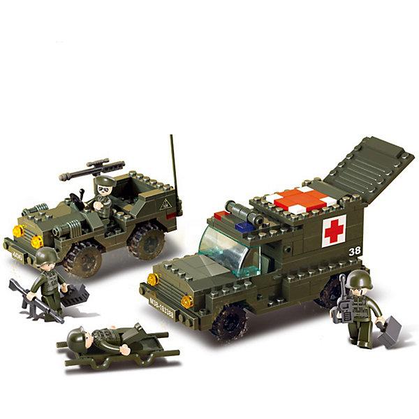 Конструктор Сухопутные войска: Первая помощь, SlubanПластмассовые конструкторы<br>В наборе: джип с пулемётом, машина медицинской помощи с солдатами, 229 деталей<br><br>Ширина мм: 310<br>Глубина мм: 225<br>Высота мм: 55<br>Вес г: 550<br>Возраст от месяцев: 72<br>Возраст до месяцев: 1188<br>Пол: Мужской<br>Возраст: Детский<br>SKU: 5005651