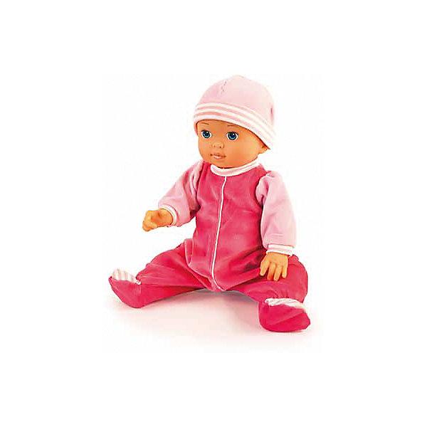 Подпрыгивающий малыш 36 смБренды кукол<br>Подпрыгивающий малыш от бренда Bayer(Байер) напоминает настоящего малыша. Он умеет издавать самые смешные звуки, двигаться вниз и вверх и многое другое. Очаровательный пупс одет в комбинезон и шапочку розового цвета. Замечательный малыш непременно порадует девочку!<br><br>Дополнительная информация:<br>Материал: пластик, текстиль<br>Высота куклы: 36 см<br>Батарейки: ААА - 3 шт.(входят в комплект)<br>Вес: 700 грамм<br><br>Купить подпрыгивающего малыша Bayer(Байер) можно в нашем интернет-магазине.<br><br>Ширина мм: 370<br>Глубина мм: 80<br>Высота мм: 10<br>Вес г: 700<br>Возраст от месяцев: 36<br>Возраст до месяцев: 2147483647<br>Пол: Женский<br>Возраст: Детский<br>SKU: 5006754