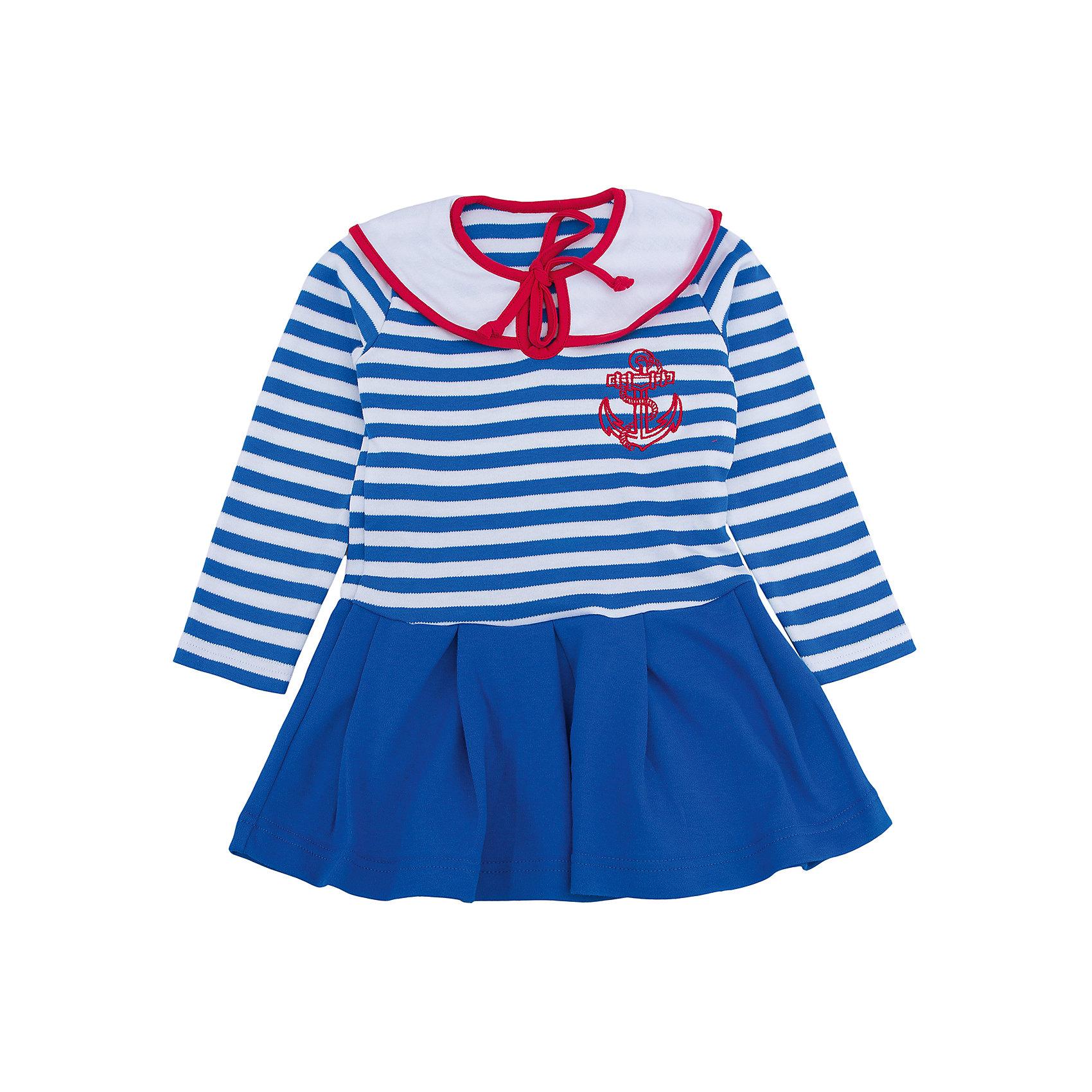 Платье для девочки АпрельПлатья и сарафаны<br>Платье для девочки Апрель.<br><br>Характеристики:<br><br>• 100% хлопок<br>• рукав: длинный<br>• коллекция: Круиз<br>• цвет: бело-синий в полоску<br><br>Стильное платье Апрель на морскую тематику понравится каждой девочке. Оно изготовлено из качественного хлопка, приятного на ощупь и отлично сидит по фигуре. Необычный дизайн платья включает в себя: подол с оборками, верх в полоску, нагрудник с завязками и вышивка на груди. Платье отлично подойдет и на каждый день, и на костюмированную вечеринку.<br><br>Платье для девочки Апрель вы можете купить в нашем интернет-магазине.<br><br>Ширина мм: 236<br>Глубина мм: 16<br>Высота мм: 184<br>Вес г: 177<br>Цвет: сине-белый<br>Возраст от месяцев: 18<br>Возраст до месяцев: 24<br>Пол: Женский<br>Возраст: Детский<br>Размер: 92,116,98,104,110<br>SKU: 5006851