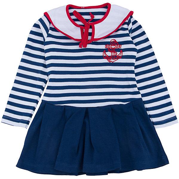 Платье для девочки АпрельПлатья и сарафаны<br>Платье для девочки Апрель.<br><br>Характеристики:<br><br>• 100% хлопок<br>• рукав: длинный<br>• коллекция: Круиз<br>• цвет: синий<br><br><br>Стильное платье Апрель на морскую тематику понравится каждой девочке. Оно изготовлено из качественного хлопка, приятного на ощупь и отлично сидит по фигуре. Необычный дизайн платья включает в себя: подол с оборками, верх в полоску, нагрудник с завязками и вышивка на груди. Платье отлично подойдет и на каждый день, и на костюмированную вечеринку.<br><br>Платье для девочки Апрель вы можете купить в нашем интернет-магазине.<br>Ширина мм: 236; Глубина мм: 16; Высота мм: 184; Вес г: 177; Цвет: синий; Возраст от месяцев: 24; Возраст до месяцев: 36; Пол: Женский; Возраст: Детский; Размер: 98,92,116,110,104; SKU: 5006864;