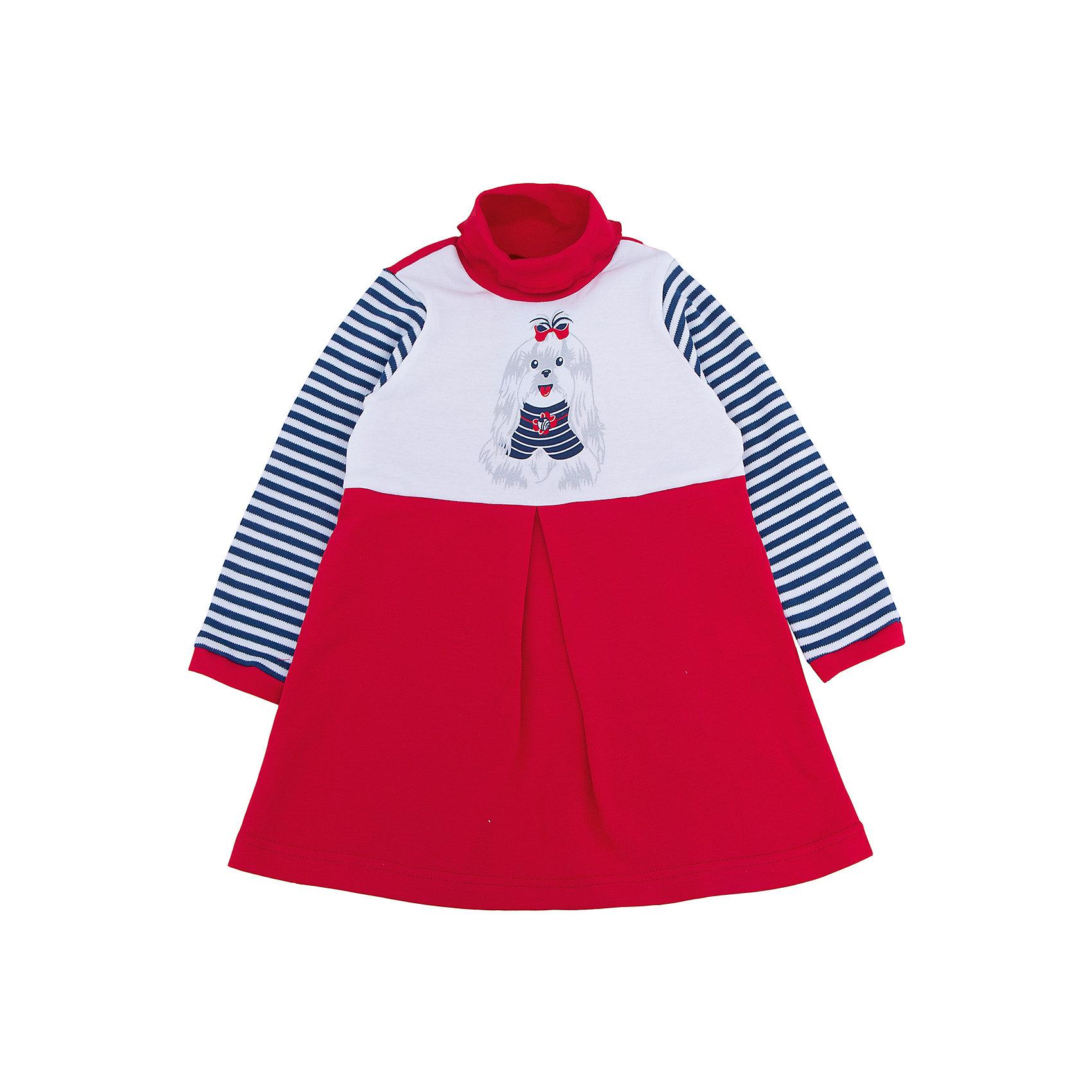 Платье для девочки АпрельПлатье для девочки от известного бренда Апрель.<br>Стильное платьишко из мягкого хлопка. Приятное на ощупь, не сковывает движения, обеспечивая наибольший комфорт. Изделие с длинными рукавами и воротником-стоечкой, декорировано дизайнерским принтом в виде милой собачки. Отличный вариант для маленькой модницы на каждый день! Рекомендуется деликатная машинная стирка без предварительного замачивания.<br>Состав:<br>хлопок 100%<br><br>Ширина мм: 236<br>Глубина мм: 16<br>Высота мм: 184<br>Вес г: 177<br>Цвет: разноцветный<br>Возраст от месяцев: 18<br>Возраст до месяцев: 24<br>Пол: Женский<br>Возраст: Детский<br>Размер: 92,116,110,104,98<br>SKU: 5006875