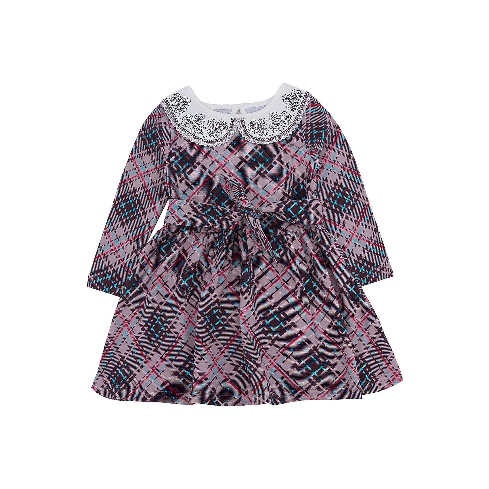Платье для девочки АпрельПлатье для девочки от известного бренда Апрель.<br>Стильное платье выполнено из плотного хлопкового полотна. Изделие с длинными рукавами, декорировано поясом, а также отложным воротничком контрастного цвета с изящной вышивкой, застегивается на пуговицу на спинке. Отличный вариант для маленькой леди как на праздник, так и на каждый день! Рекомендуется машинная стирка при температуре 40 градусов без предварительного замачивания.<br>Состав:<br>хлопок 100%<br><br>Ширина мм: 236<br>Глубина мм: 16<br>Высота мм: 184<br>Вес г: 177<br>Цвет: коричневый<br>Возраст от месяцев: 18<br>Возраст до месяцев: 24<br>Пол: Женский<br>Возраст: Детский<br>Размер: 104,110,116,122,128,134,140,146,92,98<br>SKU: 5006907