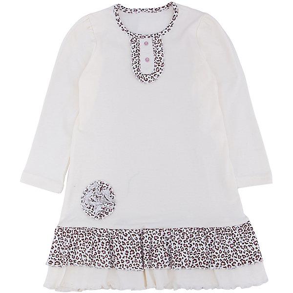 Платье для девочки АпрельПлатья и сарафаны<br>Платье для девочки Апрель.<br><br>Характеристики:<br><br>• состав: 100% хлопок<br>• цвет: белый<br>• коллекция: Забавные котята<br><br>Очаровательное платье Апрель порадует любителей стиля и простоты. Платье белого цвета имеет вставки леопардового цвета на вороте и подоле. Декорировано леопардовым цветком и рюшами. Это прелестное платье должно быть в гардеробе каждой модницы!<br><br>Платье для девочки Апрель вы можете купить в нашем интернет-магазине.<br><br>Ширина мм: 236<br>Глубина мм: 16<br>Высота мм: 184<br>Вес г: 177<br>Цвет: белый<br>Возраст от месяцев: 12<br>Возраст до месяцев: 18<br>Пол: Женский<br>Возраст: Детский<br>Размер: 86,116,110,92,98,104<br>SKU: 5006931