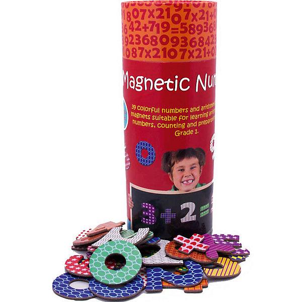 Магнитная игра Цифры, The Purple CowКасса цифр<br>Характеристики магнитной игры The Purple Cow:<br><br>• возможность обучить ребенка цифрам и действиям с ними;<br>• магнитная основа элементов для крепления на металлической поверхности;<br>• картонные карточки с цифрами и знаками;<br>• количество элементов в наборе: 39 шт.;<br>• материал: картон, магниты;<br>• диаметр упаковки: 9 см;<br>• высота упаковки: 25 см<br><br>Обучающая игра на магнитах «Цифры» поможет ребенку научиться считать, знать названия цифр, решать примеры. Детали на магнитах крепятся к металлической поверхности: магнитное игровое поле, магнитная сторона обучающей доски, а также, на холодильник. <br><br>Магнитную игру Цифры, The Purple Cow можно купить в нашем интернет-магазине.<br><br>Ширина мм: 25<br>Глубина мм: 10<br>Высота мм: 10<br>Вес г: 347<br>Возраст от месяцев: 36<br>Возраст до месяцев: 2147483647<br>Пол: Унисекс<br>Возраст: Детский<br>SKU: 5007046