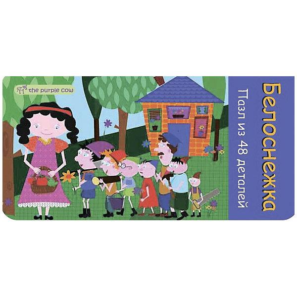 Пазл Белоснежка, The Purple CowПазлы для малышей<br>Характеристики пазлов The Purple Cow:<br><br>• авторский дизайн австралийской художницы Инны Семадар;<br>• серия Fairy Tale Puzzle;<br>• количество элементов: 48 шт.;<br>• крупные карточки;<br>• материал: плотный ламинированный картон;<br>• размер картинки в собранном виде: 32х22 см;<br>• размер упаковки: 15х7,5х4 см;<br>• вес упаковки: 175 г;<br>• упаковка: металлическая коробочка.<br><br>Пазл Белоснежка, The Purple Cow можно купить в нашем интернет-магазине.<br>Ширина мм: 15; Глубина мм: 4; Высота мм: 8; Вес г: 166; Возраст от месяцев: 36; Возраст до месяцев: 2147483647; Пол: Унисекс; Возраст: Детский; SKU: 5007048;