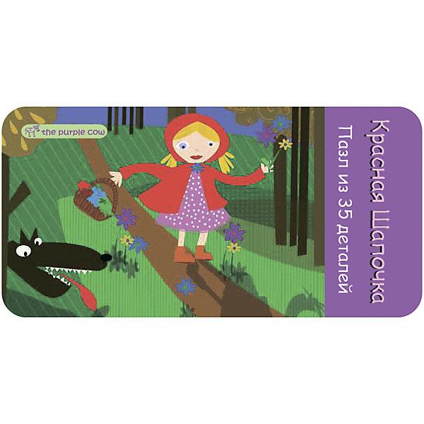 Пазл Красная шапочка, The Purple CowПазлы для малышей<br>Характеристики пазлов The Purple Cow:<br><br>• авторский дизайн австралийской художницы Инны Семадар;<br>• серия Fairy Tale Puzzle;<br>• количество элементов: 35 шт.;<br>• крупные карточки, размер деталей 5х5 см;<br>• материал: плотный ламинированный картон;<br>• размер картинки в собранном виде: 32х22 см;<br>• размер упаковки: 15х7,5х4 см;<br>• вес упаковки: 170 г;<br>• упаковка: металлическая коробочка.<br><br>Пазл Красная шапочка, The Purple Cow можно купить в нашем интернет-магазине.<br>Ширина мм: 15; Глубина мм: 4; Высота мм: 8; Вес г: 166; Возраст от месяцев: 36; Возраст до месяцев: 2147483647; Пол: Унисекс; Возраст: Детский; SKU: 5007051;