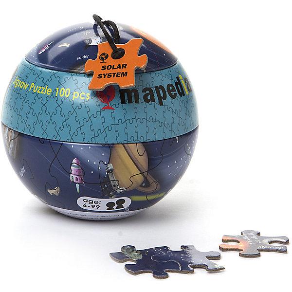 Пазл Мапедия - Солнечная система, The Purple Cow3D пазлы<br>Характеристики пазлов The Purple Cow:<br><br>• пазл в металлическом шаре;<br>• количество элементов: 100 шт.;<br>• материал: плотный ламинированный картон;<br>• размер картинки в собранном виде: 35х25 см;<br>• диаметр упаковки: 11 см;<br>• упаковка: металлический шар.<br><br>Пазл Мапедия - Солнечная система, The Purple Cow можно купить в нашем интернет-магазине.<br><br>Ширина мм: 10<br>Глубина мм: 10<br>Высота мм: 9<br>Вес г: 175<br>Возраст от месяцев: 36<br>Возраст до месяцев: 2147483647<br>Пол: Унисекс<br>Возраст: Детский<br>SKU: 5007053