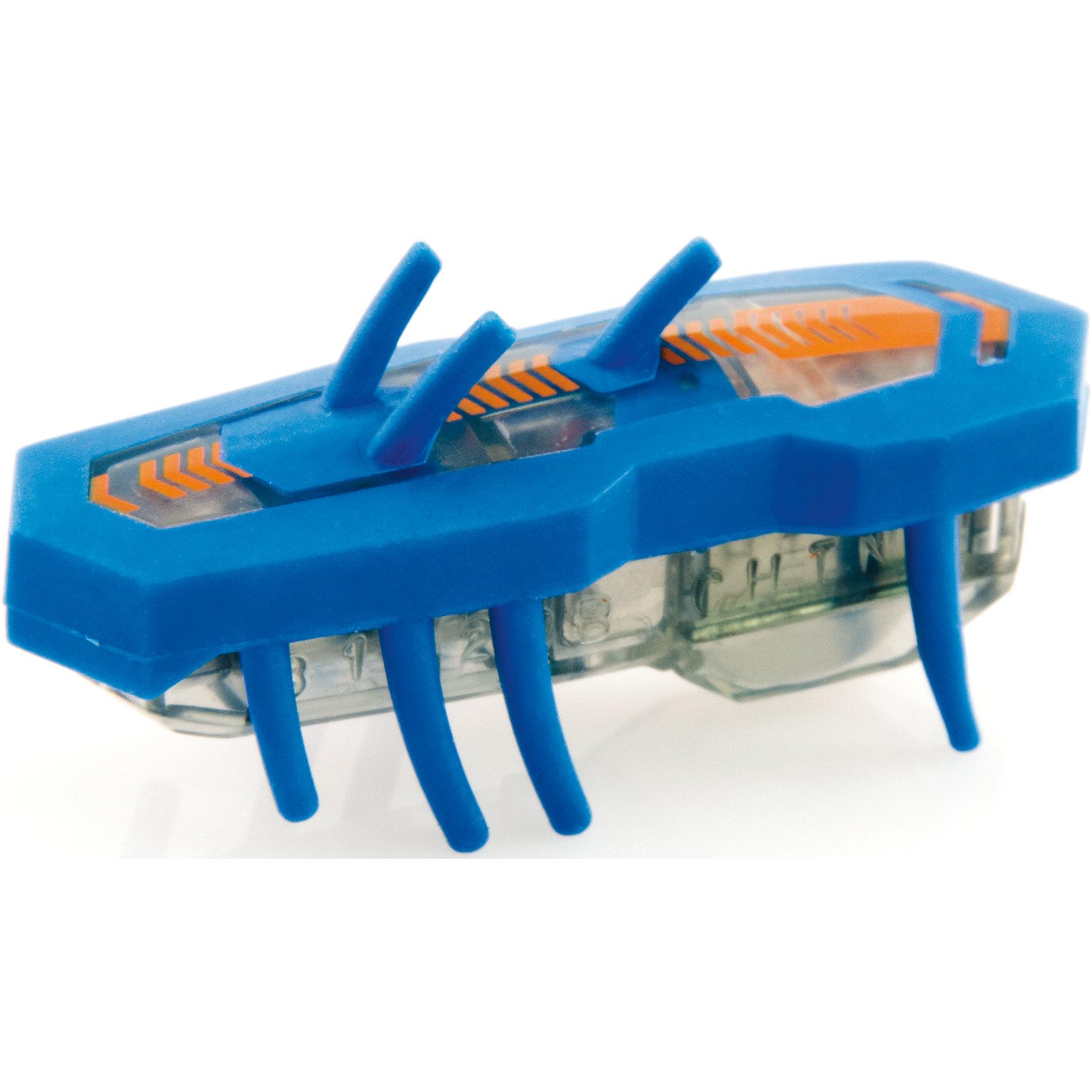 Микро-робот Нано V2, синий, HexbugХарактеристики электронной игрушки Hexbug:<br><br>• поведение наноробота: автономное, хаотичное;<br>• направление движения: горизонтально и вертикально вверх;<br>• количество ножек: 8 снизу, 3 сверху, верхние рожки помогают взбираться по вертикальным туннелям;<br>• размер наноробота: 4,2х2х1,4 см;<br>• наноробот без труда путешествует по нанодромам из наборов Hexbug Nano;<br>• батарейки входят в комплект: 1 шт. типа AG13;<br>• упаковка наноробота Nano V2 является частью лабиринта для беговых площадок и дорожек из серии V2. <br><br>Электронная игрушка Нано V2 – это микро-робот Нано, который очень быстро передвигается по закрученным лабиринтам, горизонтальным площадкам и вертикальным проходам. Наноробот модернизирован, с контрастной окраской, добавились функциональные рожки. С нанороботами можно устроить настоящие скоростные забеги. <br><br>Микро-робот Нано V2, синий, Hexbug можно купить в нашем интернет-магазине.<br><br>Ширина мм: 26<br>Глубина мм: 8<br>Высота мм: 4<br>Вес г: 57<br>Возраст от месяцев: 36<br>Возраст до месяцев: 2147483647<br>Пол: Унисекс<br>Возраст: Детский<br>SKU: 5007055