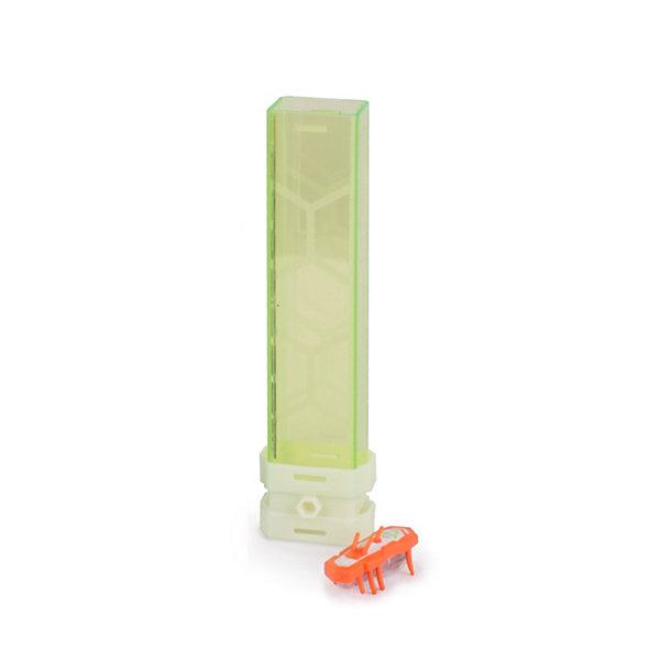 Микро-робот Нано V2, оранжевый, HexbugМир животных<br>Характеристики электронной игрушки Hexbug:<br><br>• отличительная особенность: нано-жук светится в темноте;<br>• поведение наноробота: автономное, хаотичное;<br>• направление движения: горизонтально и вертикально вверх;<br>• количество ножек: 8 снизу, 3 сверху, верхние рожки помогают взбираться по вертикальным туннелям;<br>• размер наноробота: 4,2х2х1,4 см;<br>• наноробот без труда путешествует по нанодромам из наборов Hexbug Nano;<br>• батарейки входят в комплект: 1 шт. типа AG13;<br>• упаковка наноробота Nano V2 является частью лабиринта для беговых площадок и дорожек из серии V2. <br><br>Электронная игрушка Нано V2 – это микро-робот Нано, который очень быстро передвигается по закрученным лабиринтам, горизонтальным площадкам и вертикальным проходам. Наноробот модернизирован, с контрастной окраской, добавились функциональные рожки. С нанороботами можно устроить настоящие скоростные забеги. <br><br>Микро-робот Нано V2, оранжевый, Hexbug можно купить в нашем интернет-магазине.<br><br>Ширина мм: 26<br>Глубина мм: 8<br>Высота мм: 4<br>Вес г: 57<br>Возраст от месяцев: 36<br>Возраст до месяцев: 2147483647<br>Пол: Унисекс<br>Возраст: Детский<br>SKU: 5007060