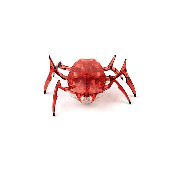 Микро-робот Жук Скарабей, вишневый, HexbugИнтерактивные животные<br>Наноробот Hexbug Жук Скарабей.<br><br>Характеристики электронной игрушки Hexbug:<br><br>• строение тела: крупное овальное тело, выпуклое сверху и снизу;<br>• количество лап: 3 пары;<br>• специальная конструкция лапок для достижение максимальной скорости;<br>• передвигается только на своих лапках;<br>• супербыстрый наноробот, присутствует агрессивность;<br>• 12 передач и мощнейший моторчик – 1220 раз в минуту жук Скарабей передвигает лапками;<br>• специальный привод, случайность траектории движения;<br>• при встрече с препятствием: мелкий предмет отодвигает лапками, от большого предмета отпрыгивает в поисках новой траектории движения;<br>• при падении на спину жук Hexbug Nano переворачивается на лапки;<br>• размер скарабея: 8,2х4,1х5,7 см;<br>• вес наноробота: 28,5 г.<br><br>Современные и технологичные электронные игрушки Hexbug Nano – это скоростные жуки Скарабеи, быстрые, шустрые, умные. Бегают по случайно выбранной траектории, отталкиваются и переворачиваются после падения. Настоящий прорыв в области подвижных микро-роботов!<br><br>Микро-робот Жук Скарабей, вишневый, Hexbug можно купить в нашем интернет-магазине.<br><br>Ширина мм: 6<br>Глубина мм: 13<br>Высота мм: 11<br>Вес г: 47<br>Возраст от месяцев: 36<br>Возраст до месяцев: 2147483647<br>Пол: Унисекс<br>Возраст: Детский<br>SKU: 5007080