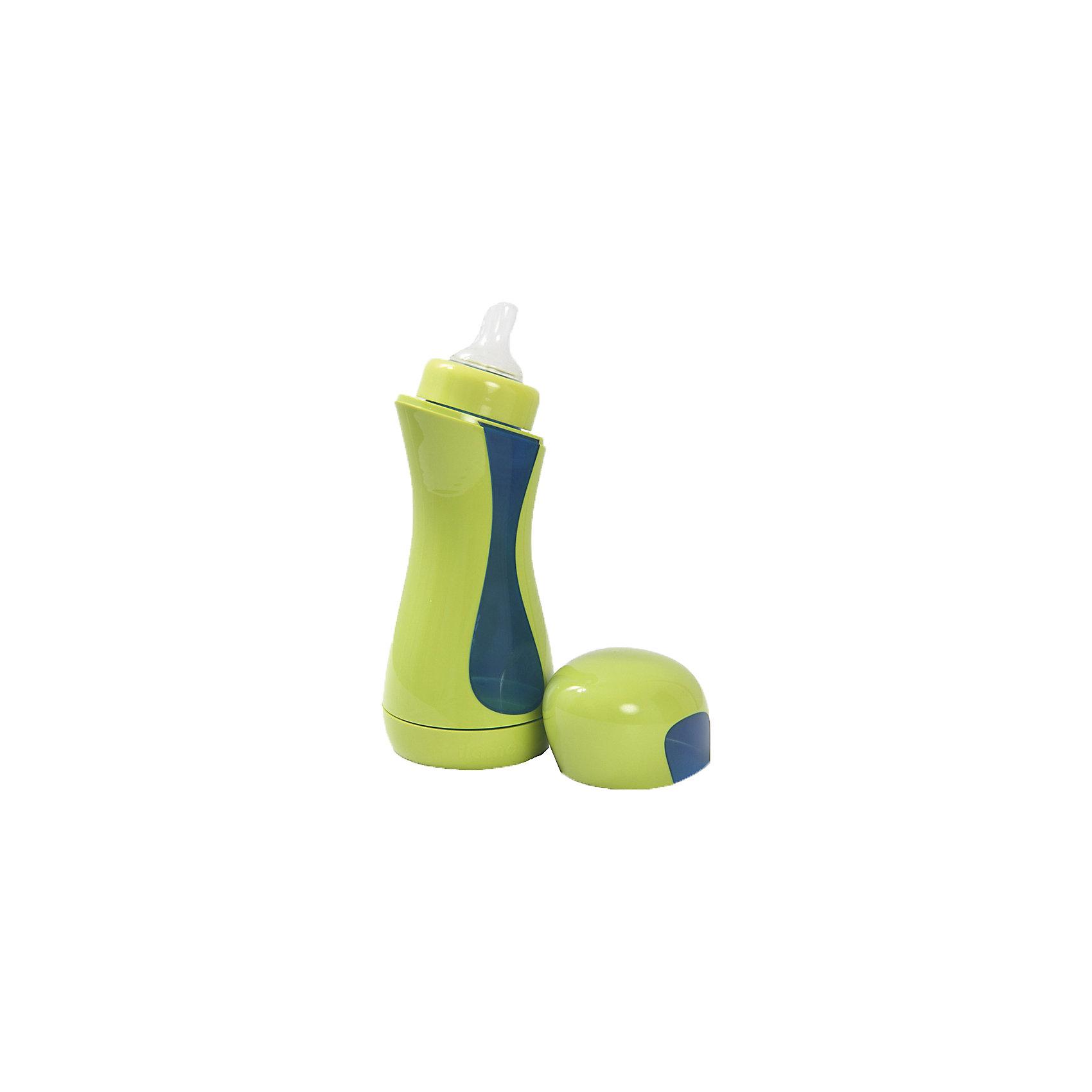 Бутылочка Home, Iiamo, зеленый/синийБутылочка Home, Iiamo (Ииамо), зеленый/синий<br><br>Характеристики:<br><br>• легко разбирается с двух сторон<br>• можно кипятить, мыть в посудомоечной машине и разогревать в микроволновой печи<br>• система вентиляции анти-колик<br>• удобная форма и стильный дизайн<br>• не содержит бисфенол А, фталаты и прочие вредные вещества<br>• объем: 380 мл<br>• материал бутылочки: полипропилен<br>• материал соски: силикон<br>• вес: 180 грамм<br>• цвет: зеленый/синий<br><br>Бутылочка IIAMO HOME позаботится о комфорте малыша с самого младенчества. Она имеет особую систему вентиляции, которая регулирует количество воздуха и препятствует появлению коликов у детей. Конструкция бутылочки позволяет разбирать ее с двух сторон, поэтому вы без труда сможете убрать все остатки молока или смеси. Кроме того, IIAMO HOME можно кипятить, греть в СВЧ-печи и мыть в посудомоечной машине. Бутылочка изготовлена без применения бисфенола А, фталатов, парабенов и других вредных веществ, что делает ее полностью безопасной для здоровья крохи. Бутылочка имеет стильный дизайн, который, к тому же, позволяет удобно расположить ее в руке. Позаботьтесь о питании крохи с бутылочкой IIAMO HOME!<br><br>Бутылочку Home, Iiamo (Ииамо), зеленый/синий вы можете купить в нашем интернет-магазине.<br><br>Ширина мм: 77<br>Глубина мм: 77<br>Высота мм: 212<br>Вес г: 150<br>Возраст от месяцев: 6<br>Возраст до месяцев: 36<br>Пол: Мужской<br>Возраст: Детский<br>SKU: 5007198