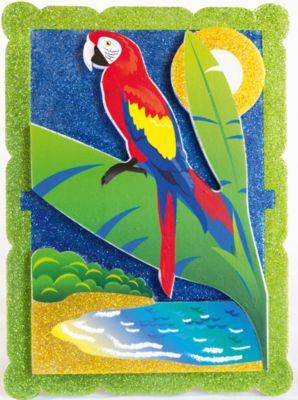 Набор для творчества Попугай в тропиках Pic'nMix