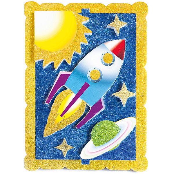 Набор для творчества Космическое путешествие PicnMixБумага<br>Набор для творчества Космическое путешествие -это объёмная красочная картина-аппликация, которая помогает тренировать зрительную память координацию движений и способствует развитию мелкой мотрики рук.<br><br>Ширина мм: 21<br>Глубина мм: 16<br>Высота мм: 5<br>Вес г: 140<br>Возраст от месяцев: 36<br>Возраст до месяцев: 120<br>Пол: Унисекс<br>Возраст: Детский<br>SKU: 5007392