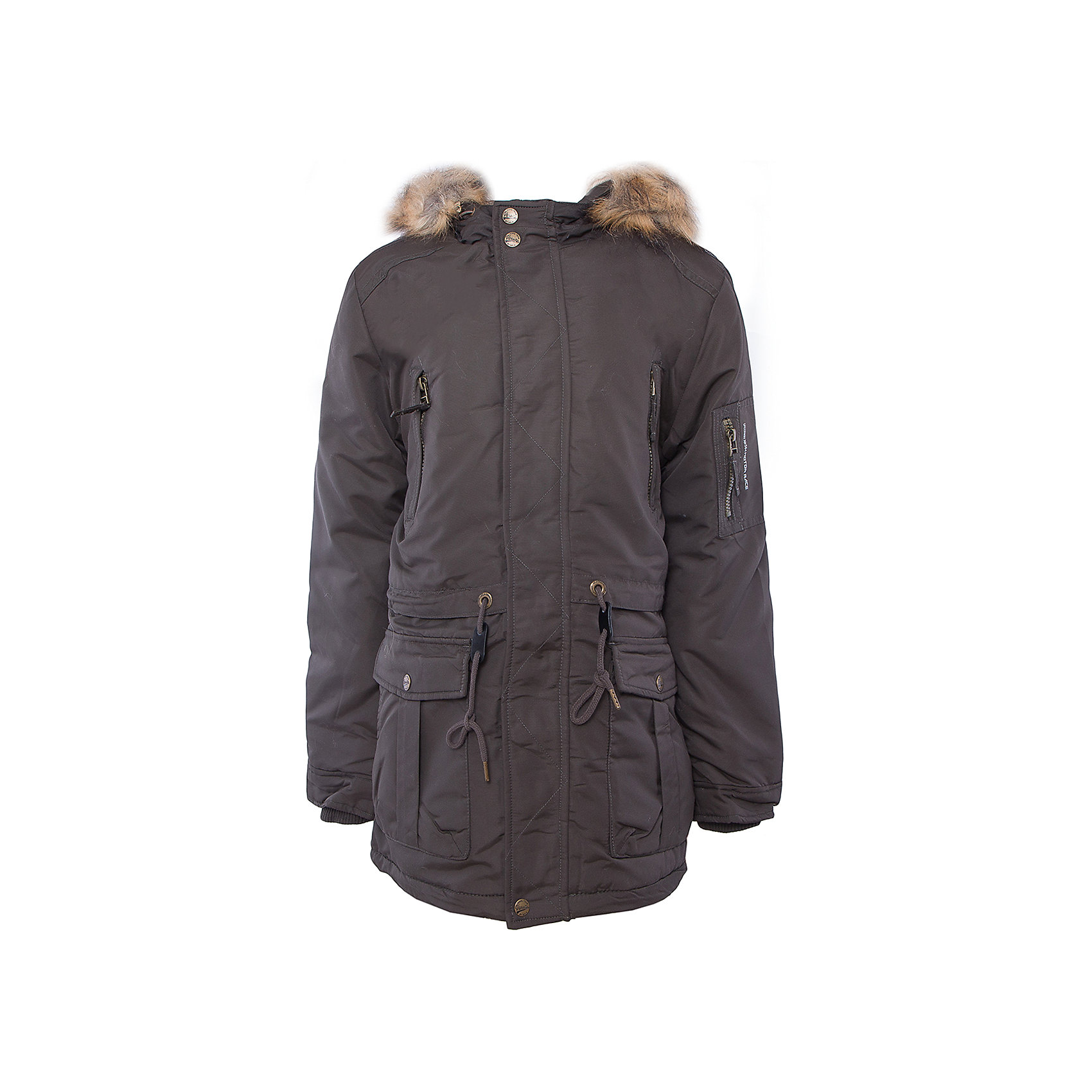 Пальто для мальчика SELAВерхняя одежда<br>Такое стильное пальто - незаменимая вещь в прохладное время года. Эта модель отлично сидит на ребенке, она сшита из плотного материала, позволяет гулять и заниматься активным отдыхом на свежем воздухе. Подкладка и утеплитель обеспечивают ребенку комфорт. Модель дополнена капюшоном, планкой от ветра, кулиской на талии, внутренними трикотажными манжетами и карманами.<br>Одежда от бренда Sela (Села) - это качество по приемлемым ценам. Многие российские родители уже оценили преимущества продукции этой компании и всё чаще приобретают одежду и аксессуары Sela.<br><br>Дополнительная информация:<br><br>материал: 100% нейлон; подкладка:100% ПЭ; утеплитель:100% ПЭ; мех:100% ПЭ;<br>капюшон с опушкой;<br>карманы;<br>кулиска на талии.<br><br>Пальто для мальчика от бренда Sela можно купить в нашем интернет-магазине.<br><br>Ширина мм: 356<br>Глубина мм: 10<br>Высота мм: 245<br>Вес г: 519<br>Цвет: зеленый<br>Возраст от месяцев: 60<br>Возраст до месяцев: 72<br>Пол: Мужской<br>Возраст: Детский<br>Размер: 116,152,128,140<br>SKU: 5007989