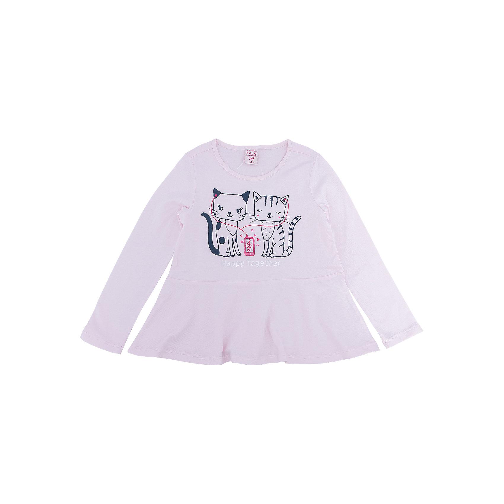 Платье для девочки SELAПлатья и сарафаны<br>Платье с принтом - очень модная вещь. Эта модель отлично сидит на ребенке, она смотрится стильно и нарядно. Приятная на ощупь ткань и качественная фурнитура обеспечивает ребенку комфорт. Модель станет отличной базовой вещью, которая будет уместна в различных сочетаниях.<br>Одежда от бренда Sela (Села) - это качество по приемлемым ценам. Многие российские родители уже оценили преимущества продукции этой компании и всё чаще приобретают одежду и аксессуары Sela.<br><br>Дополнительная информация:<br><br>цвет: бежевый;<br>материал: 100% хлопок;<br>с принтом;<br>длинный рукав.<br><br>Платье для девочки от бренда Sela можно купить в нашем интернет-магазине.<br><br>Ширина мм: 236<br>Глубина мм: 16<br>Высота мм: 184<br>Вес г: 177<br>Цвет: бежевый<br>Возраст от месяцев: 60<br>Возраст до месяцев: 72<br>Пол: Женский<br>Возраст: Детский<br>Размер: 116,92,98,104,110<br>SKU: 5008233