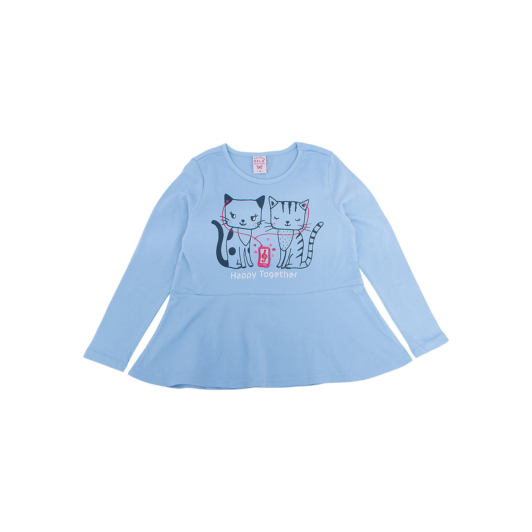 Платье для девочки SELAПлатья и сарафаны<br>Платье с принтом - очень модная вещь. Эта модель отлично сидит на ребенке, она смотрится стильно и нарядно. Приятная на ощупь ткань и качественная фурнитура обеспечивает ребенку комфорт. Модель станет отличной базовой вещью, которая будет уместна в различных сочетаниях.<br>Одежда от бренда Sela (Села) - это качество по приемлемым ценам. Многие российские родители уже оценили преимущества продукции этой компании и всё чаще приобретают одежду и аксессуары Sela.<br><br>Дополнительная информация:<br><br>цвет: голубой;<br>материал: 100% хлопок;<br>с принтом;<br>длинный рукав.<br><br>Платье для девочки от бренда Sela можно купить в нашем интернет-магазине.<br><br>Ширина мм: 236<br>Глубина мм: 16<br>Высота мм: 184<br>Вес г: 177<br>Цвет: голубой<br>Возраст от месяцев: 36<br>Возраст до месяцев: 48<br>Пол: Женский<br>Возраст: Детский<br>Размер: 104,116,92,98,110<br>SKU: 5008239