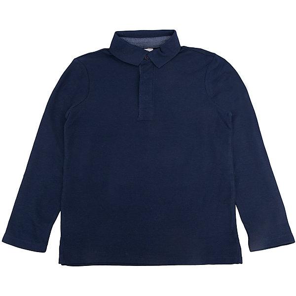 Футболка-поло с длинным рукавом для мальчика SELAФутболки с длинным рукавом<br>Футболка-поло с длинным рукавом - незаменимая вещь в гардеробе школьников. Эта модель отлично сидит на ребенке, она сделана из приятного на ощупь материала, мягкая и дышащая. Натуральный хлопок в составе ткани не вызывает аллергии и обеспечивает ребенку комфорт. Модель станет отличной базовой вещью, которая будет уместна в различных сочетаниях.<br>Одежда от бренда Sela (Села) - это качество по приемлемым ценам. Многие российские родители уже оценили преимущества продукции этой компании и всё чаще приобретают одежду и аксессуары Sela.<br><br>Дополнительная информация:<br><br>материал: 100 % хлопок;<br>рукава длинные;<br>застежки - пуговицы.<br><br>Рубашку для мальчика от бренда Sela можно купить в нашем интернет-магазине.<br><br>Ширина мм: 174<br>Глубина мм: 10<br>Высота мм: 169<br>Вес г: 157<br>Цвет: синий<br>Возраст от месяцев: 60<br>Возраст до месяцев: 72<br>Пол: Мужской<br>Возраст: Детский<br>Размер: 116,152,146,140,134,128,122<br>SKU: 5008253