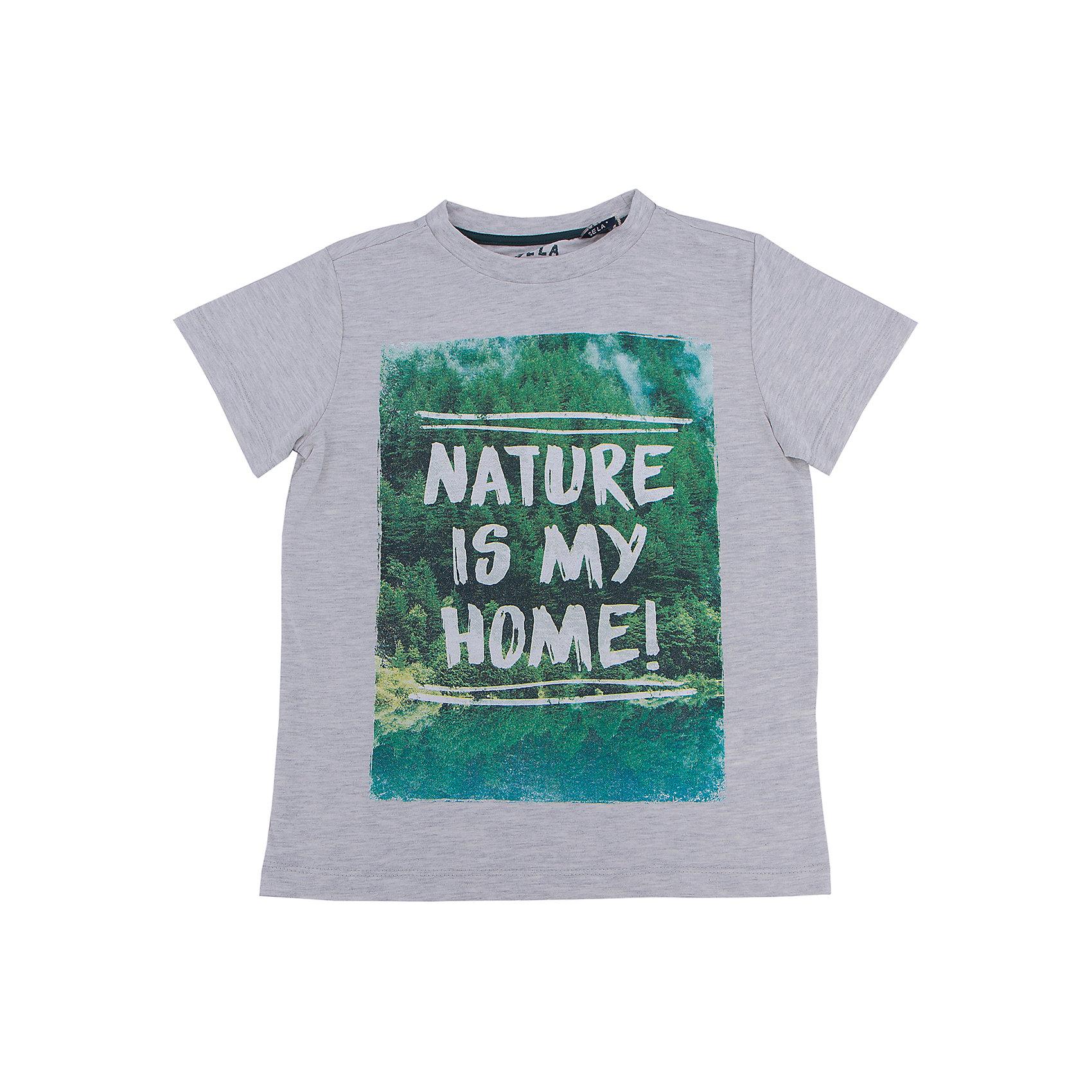 Футболка для мальчика SELAУдобная одежда - неотъемлемая составляющая комфорта ребенка. Эта модель отлично сидит на детях, она сшита из приятного на ощупь материала, мягкая и дышащая. Натуральный хлопок в составе ткани не вызывает аллергии и обеспечивает ребенку комфорт. Модель станет отличной базовой вещью, которая будет уместна в различных сочетаниях.<br>Одежда от бренда Sela (Села) - это качество по приемлемым ценам. Многие российские родители уже оценили преимущества продукции этой компании и всё чаще приобретают одежду и аксессуары Sela.<br><br>Дополнительная информация:<br><br>принт;<br>материал: 60% хлопок, 40% ПЭ;<br>короткий рукав;<br>трикотаж.<br><br>Футболку для мальчика от бренда Sela можно купить в нашем интернет-магазине.<br><br>Ширина мм: 199<br>Глубина мм: 10<br>Высота мм: 161<br>Вес г: 151<br>Цвет: серый<br>Возраст от месяцев: 108<br>Возраст до месяцев: 120<br>Пол: Мужской<br>Возраст: Детский<br>Размер: 140,128,134,146,152,116,122<br>SKU: 5008273