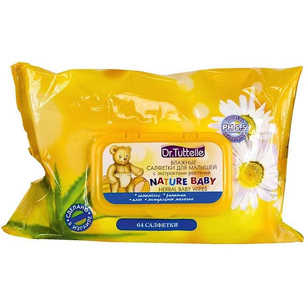 Влажные салфетки для малышей с экстрактами растений (с флип-топом) 64 шт, Dr. TuttelleВлажные салфетки<br>Бережное очищение кожи малыша в области подгузника позволяет предотвратить появление сыпи и раздражений. Входящие в состав салфеток экстракты лекарственных трав и витаминов увлажняют детскую кожу, снимают покраснения и воспаления. <br><br>Дополнительная информация:<br><br>Состав:<br>гамамелис, ромашка, алоэ, миндальное молочко. <br><br>Влажные салфетки для малышей с экстрактами растений (с флип-топом) 64 шт/12кор., Dr. Tuttelle можно купить в нашем интернет-магазине.<br><br>Ширина мм: 300<br>Глубина мм: 100<br>Высота мм: 50<br>Вес г: 150<br>Возраст от месяцев: 0<br>Возраст до месяцев: 36<br>Пол: Унисекс<br>Возраст: Детский<br>SKU: 5008311