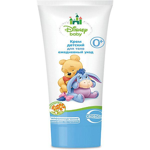 Крем ежедневный уход для тела в ламин. тубе Disney baby, СвободаКосметика для малыша<br>Детский крем Disney baby увлажняет и смягчает нежную кожу малыша. Крем гипоаллергенный, применяется с первых дней жизни малыша. Крем позволяет снять сухость и шелушение кожи. <br><br>Дополнительная информация:<br><br>Содержит экстракт алоэ вера, масло ши, бисаболол, D-пантенол, витамина Е.<br>Не содержит парафинового масла и красителей.<br><br>Объем: 75 мл<br><br>Крем ежедневный уход для тела в ламин. тубе Disney baby, Свобода можно купить в нашем интернет-магазине.<br>Ширина мм: 300; Глубина мм: 100; Высота мм: 50; Вес г: 100; Возраст от месяцев: -2147483648; Возраст до месяцев: 2147483647; Пол: Унисекс; Возраст: Детский; SKU: 5008399;