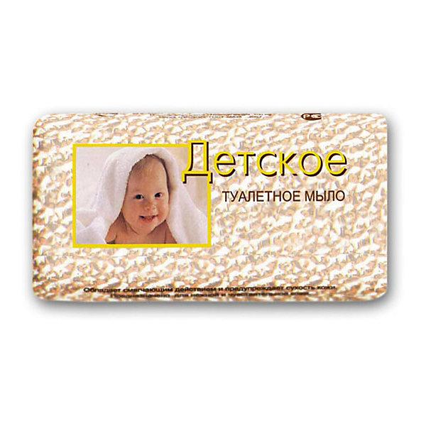 Мыло детское Детское в обёртке, СвободаКосметика для малыша<br>Детское туалетное мыло очищает кожу малыша, смягчает и увлажняет ее. Хорошо пенится, легко смывается с кожи рук. Подходит для чувствительной кожи малыша. <br><br>Дополнительная информация:<br><br>Содержит экстракт зверобоя, глицерин, пальмовое масло.<br><br>Масса: 100 грамм<br><br>Мыло детское Детское в обёртке, Свобода можно купить в нашем интернет-магазине.<br><br>Ширина мм: 300<br>Глубина мм: 100<br>Высота мм: 50<br>Вес г: 200<br>Возраст от месяцев: 0<br>Возраст до месяцев: 36<br>Пол: Унисекс<br>Возраст: Детский<br>SKU: 5008413