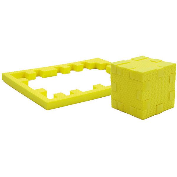 Пазл-конструктор Цитрин, PicnMixПазлы для малышей<br>Цитрин - уникальный пазл-конструктор из серии Кубикформ от PicnMix, который поможет развить логику, мелкую моторику и пространственное восприятие. Ребенок сможет собрать пазл, кубик и различные геометрические фигуры. Для начала можно следовать инструкции, а узнав, как устроен чудо-пазл, придумать свои собственные творения. Кроме того, с конструктором Цитрин можно смело играть в воде. <br>Пазл-конструктор Цитрин - замечательный подарок для юных строителей!<br><br>Дополнительная информация:<br>Цвет: желтый<br>Материал: ЭВА(вспененный полимер)<br>Размер упаковки: 21,5х1,5х15,5 см<br>Вес: 45 грамм<br><br>Пазл-конструктор Цитрин от PicnMix можно приобрести в нашем интернет-магазине.<br><br>Ширина мм: 215<br>Глубина мм: 15<br>Высота мм: 160<br>Вес г: 50<br>Возраст от месяцев: 36<br>Возраст до месяцев: 60<br>Пол: Унисекс<br>Возраст: Детский<br>SKU: 5008783