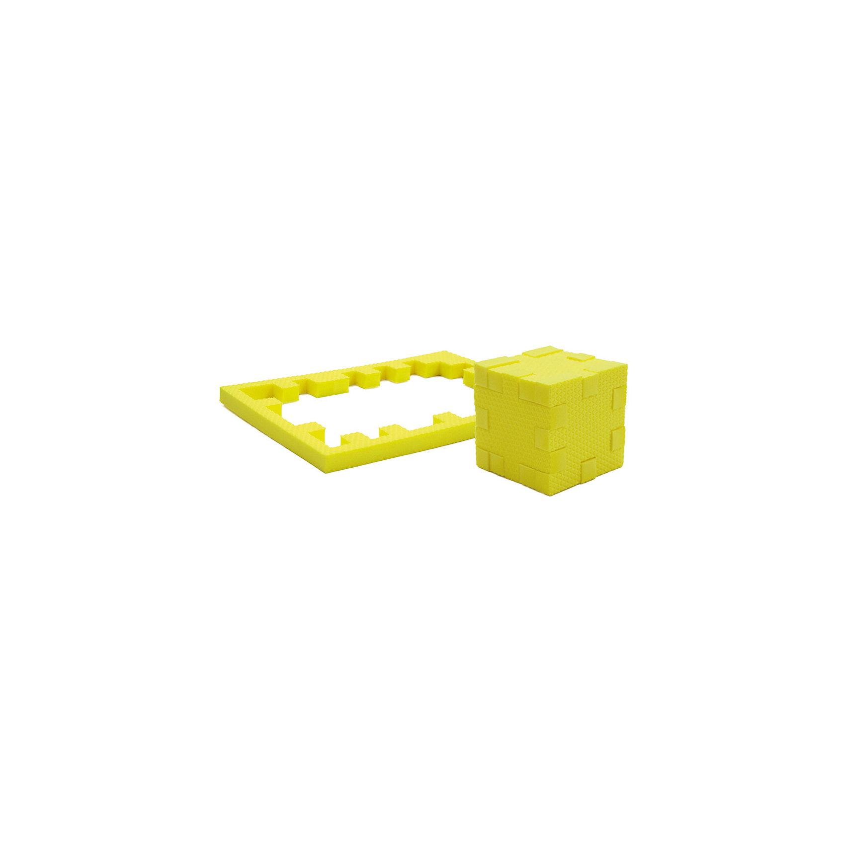 Пазл-конструктор Цитрин, PicnMixЦитрин - уникальный пазл-конструктор из серии Кубикформ от PicnMix, который поможет развить логику, мелкую моторику и пространственное восприятие. Ребенок сможет собрать пазл, кубик и различные геометрические фигуры. Для начала можно следовать инструкции, а узнав, как устроен чудо-пазл, придумать свои собственные творения. Кроме того, с конструктором Цитрин можно смело играть в воде. <br>Пазл-конструктор Цитрин - замечательный подарок для юных строителей!<br><br>Дополнительная информация:<br>Цвет: желтый<br>Материал: ЭВА(вспененный полимер)<br>Размер упаковки: 21,5х1,5х15,5 см<br>Вес: 45 грамм<br><br>Пазл-конструктор Цитрин от PicnMix можно приобрести в нашем интернет-магазине.<br><br>Ширина мм: 215<br>Глубина мм: 15<br>Высота мм: 160<br>Вес г: 50<br>Возраст от месяцев: 36<br>Возраст до месяцев: 60<br>Пол: Унисекс<br>Возраст: Детский<br>SKU: 5008783