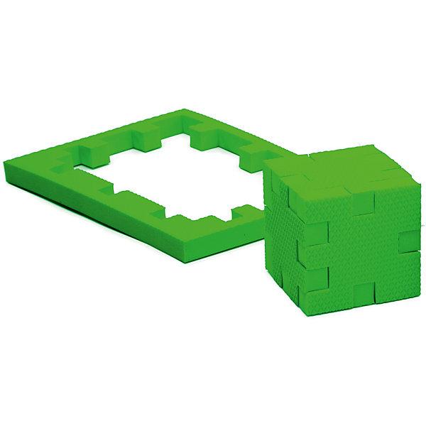 Пазл-конструктор Изумруд, PicnMixПазлы для малышей<br>Изумруд - уникальный пазл-конструктор из серии Кубикформ от PicnMix, который поможет развить логику, мелкую моторику и пространственное восприятие. Ребенок сможет собрать пазл, кубик и различные геометрические фигуры. Для начала можно следовать инструкции, а узнав, как устроен чудо-пазл, придумать свои собственные творения. Кроме того, с конструктором Изумруд можно смело играть в воде. <br>Пазл-конструктор Изумруд - замечательный подарок для юных строителей!<br><br>Дополнительная информация:<br>Цвет: зеленый<br>Материал: ЭВА(вспененный полимер)<br>Размер упаковки: 21,5х1,5х15,5 см<br>Вес: 45 грамм<br><br>Пазл-конструктор Изумруд от PicnMix можно приобрести в нашем интернет-магазине.<br><br>Ширина мм: 215<br>Глубина мм: 15<br>Высота мм: 160<br>Вес г: 50<br>Возраст от месяцев: 36<br>Возраст до месяцев: 60<br>Пол: Унисекс<br>Возраст: Детский<br>SKU: 5008786