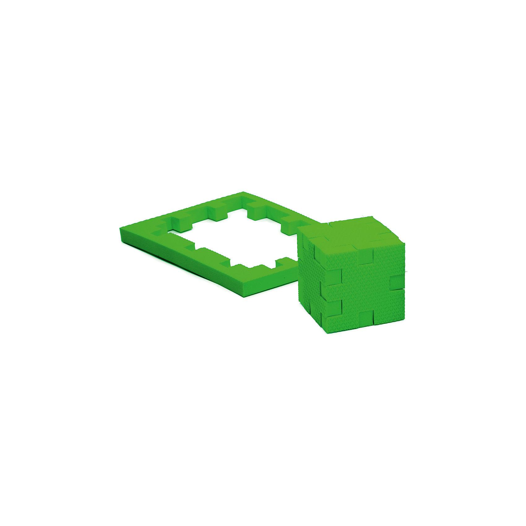 Пазл-конструктор Изумруд, PicnMixИгры для дошкольников<br>Изумруд - уникальный пазл-конструктор из серии Кубикформ от PicnMix, который поможет развить логику, мелкую моторику и пространственное восприятие. Ребенок сможет собрать пазл, кубик и различные геометрические фигуры. Для начала можно следовать инструкции, а узнав, как устроен чудо-пазл, придумать свои собственные творения. Кроме того, с конструктором Изумруд можно смело играть в воде. <br>Пазл-конструктор Изумруд - замечательный подарок для юных строителей!<br><br>Дополнительная информация:<br>Цвет: зеленый<br>Материал: ЭВА(вспененный полимер)<br>Размер упаковки: 21,5х1,5х15,5 см<br>Вес: 45 грамм<br><br>Пазл-конструктор Изумруд от PicnMix можно приобрести в нашем интернет-магазине.<br><br>Ширина мм: 215<br>Глубина мм: 15<br>Высота мм: 160<br>Вес г: 50<br>Возраст от месяцев: 36<br>Возраст до месяцев: 60<br>Пол: Унисекс<br>Возраст: Детский<br>SKU: 5008786