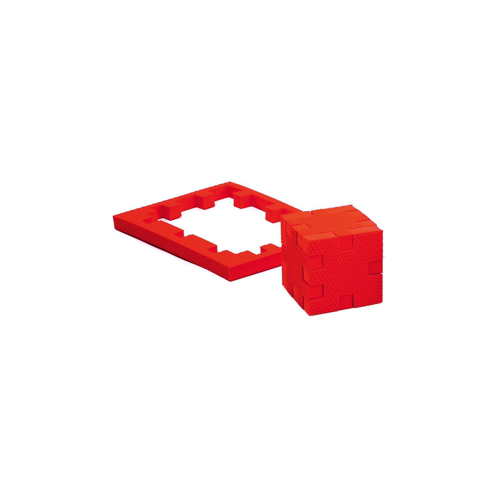 Пазл-конструктор Рубин, PicnMixИгры для дошкольников<br>Рубин - уникальный пазл-конструктор из серии Кубикформ от PicnMix, который поможет развить логику, мелкую моторику и пространственное восприятие. Ребенок сможет собрать пазл, кубик и различные геометрические фигуры. Для начала можно следовать инструкции, а узнав, как устроен чудо-пазл, придумать свои собственные творения. Кроме того, с конструктором Рубин можно смело играть в воде. <br>Пазл-конструктор Рубин - замечательный подарок для юных строителей!<br><br>Дополнительная информация:<br>Цвет: красный<br>Материал: ЭВА(вспененный полимер)<br>Размер упаковки: 21,5х1,5х15,5 см<br>Вес: 45 грамм<br><br>Пазл-конструктор Рубин от PicnMix можно приобрести в нашем интернет-магазине.<br><br>Ширина мм: 215<br>Глубина мм: 15<br>Высота мм: 160<br>Вес г: 50<br>Возраст от месяцев: 36<br>Возраст до месяцев: 60<br>Пол: Унисекс<br>Возраст: Детский<br>SKU: 5008788