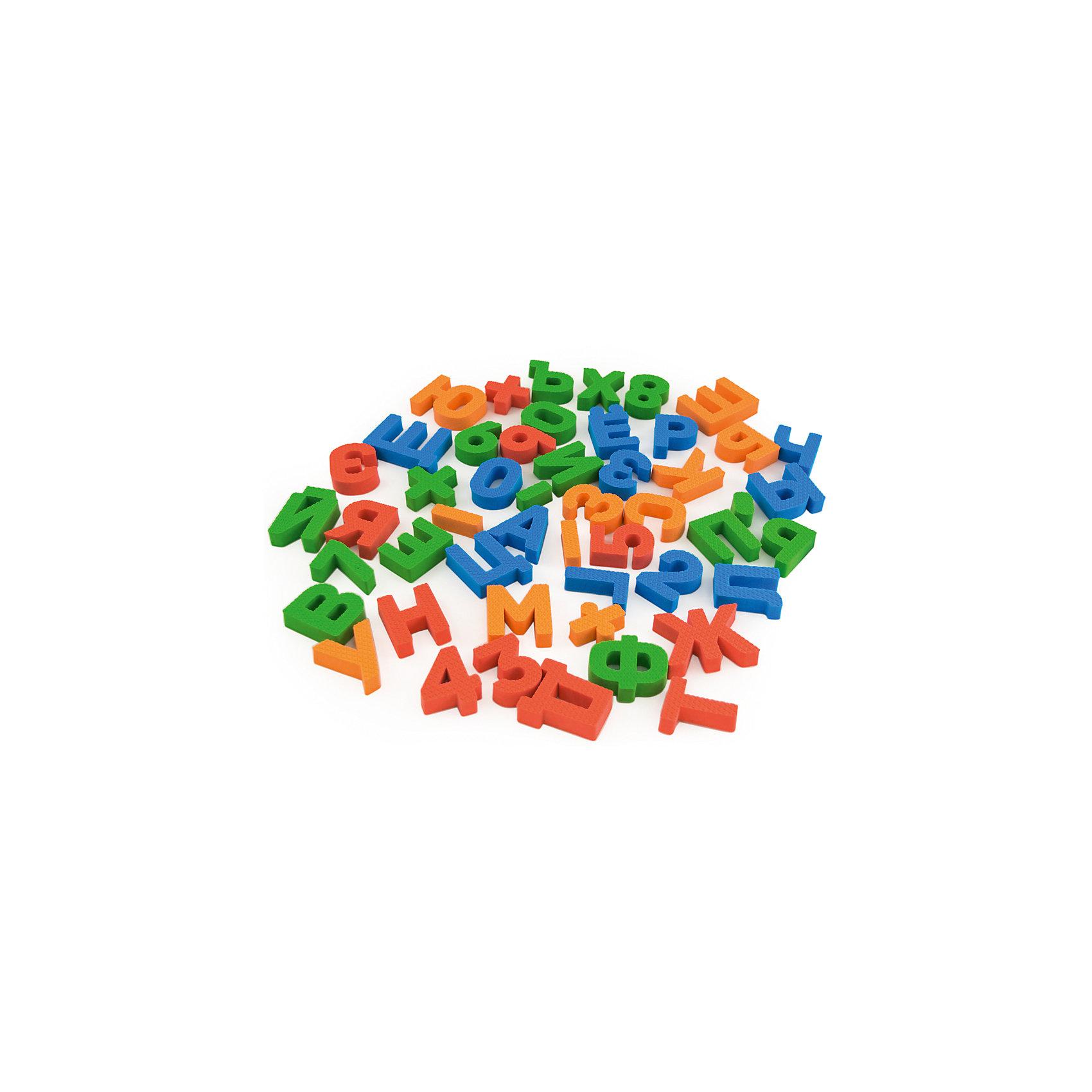 Набор Буквы-цифры, PicnMixИгровые наборы<br>Буквы-цифры от PicnMix - это игрушка, которая поможет вам обучать ребенка даже во время купания. Все детали легко держатся на воде, кафеле и других гладких поверхностях. В комплекте буквы и цифры четырех цветов: красный, оранжевый, зеленый, синий. С их помощью ребенок без труда научится считать и, возможно, даже складывать слоги. Отлично развивает мелкую моторику и память. С игрой Буквы-цифры купаться будет очень весело и интересно!<br><br>Дополнительная информация:<br>Материал: ЭВА<br>Количество элементов: 48<br>Размер упаковки: 15х15х25 см<br>Вес: 100 грамм<br><br>Набор Буквы-цифры от PicnMix можно приобрести в нашем интернет-магазине.<br><br>Ширина мм: 150<br>Глубина мм: 250<br>Высота мм: 150<br>Вес г: 100<br>Возраст от месяцев: 36<br>Возраст до месяцев: 60<br>Пол: Унисекс<br>Возраст: Детский<br>SKU: 5008803