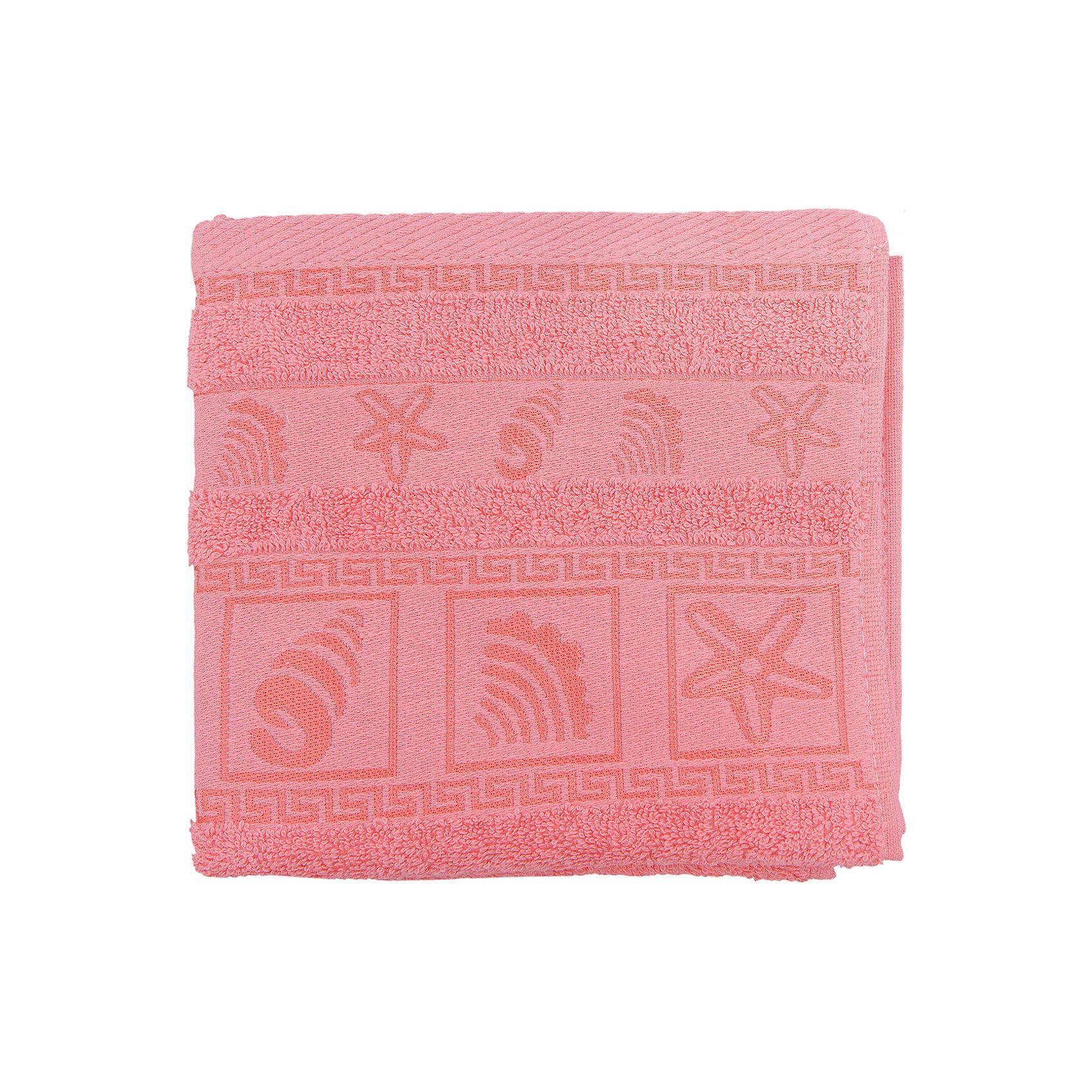 Полотенце махровое Shell 40*75 Португалия, коралловыйМахровое полотенце Shell идеально подходит для вашей ванной комнаты. Оно хорошо впитывает влагу и обладает высокой прочностью. Полотенце выполнено из качественного хлопка с применением стойких безопасных красителей. Край полотенца украшен вышивкой на морскую тематику.<br><br>Дополнительная информация:<br>Размер: 40х75 см<br>Материал: 100% хлопок<br>Плотность: 500 г/м2<br>Цвет: коралловый<br>Торговая марка: Португалия<br><br>Махровое полотенце Shell вы можете купить а нашем интернет-магазине.<br><br>Ширина мм: 500<br>Глубина мм: 500<br>Высота мм: 200<br>Вес г: 200<br>Возраст от месяцев: 0<br>Возраст до месяцев: 144<br>Пол: Унисекс<br>Возраст: Детский<br>SKU: 5010932