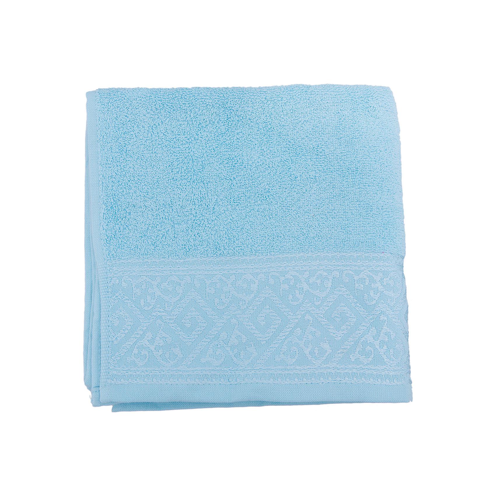 Полотенце махровое Majolica 50*100, Португалия, небесно-голубойВанная комната<br>Махровое полотенце Majolica изготовлено из натурального хлопка и соответствует всем требованиям качества. Оно сохранит цвет даже после многих стирок, подарит мягкость и замечательно впитает воду. Полотенце украшено необычным орнаментом по краю.<br><br>Дополнительная информация:<br>Материал: 100% хлопок<br>Плотность: 500 г/м2<br>Размер: 50х100 см<br>Цвет: небесно-голубой<br>Торговая марка: Португалия<br><br>Вы можете купить махровое полотенце Majolica в нашем интернет-магазине.<br><br>Ширина мм: 500<br>Глубина мм: 500<br>Высота мм: 200<br>Вес г: 350<br>Возраст от месяцев: 0<br>Возраст до месяцев: 144<br>Пол: Унисекс<br>Возраст: Детский<br>SKU: 5010942